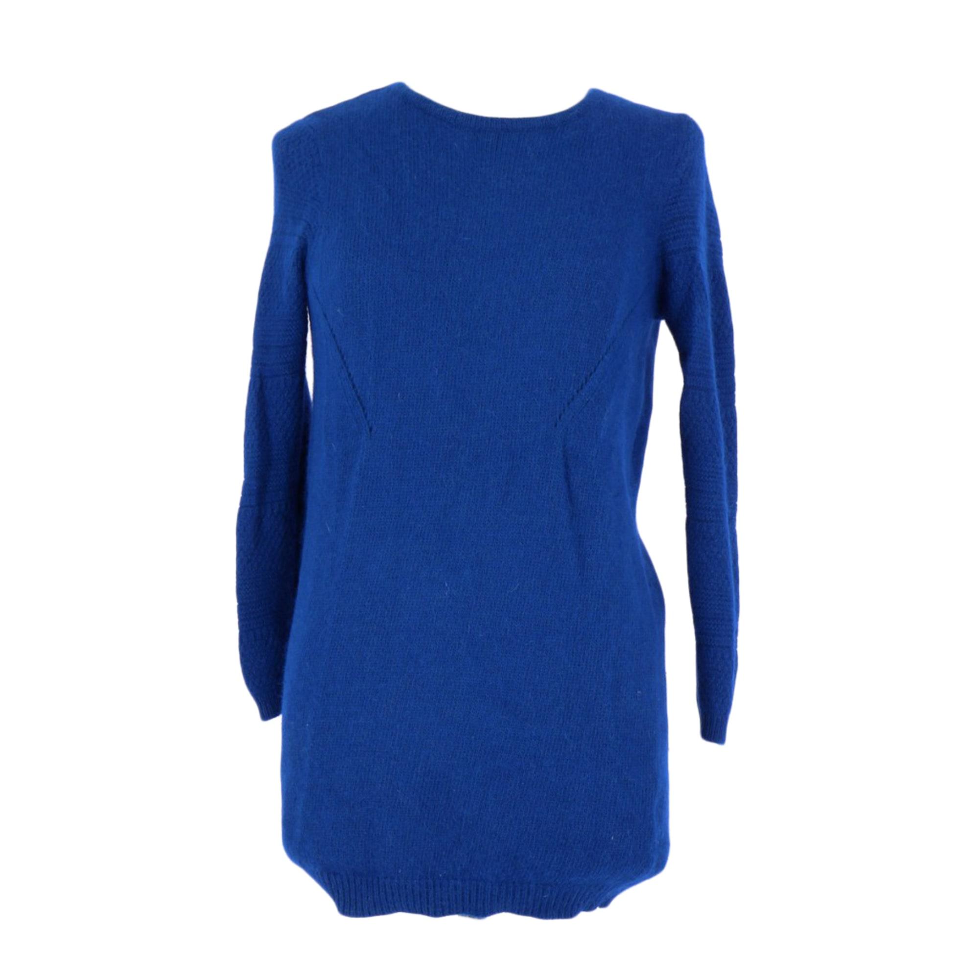 Pull BA&SH Bleu, bleu marine, bleu turquoise