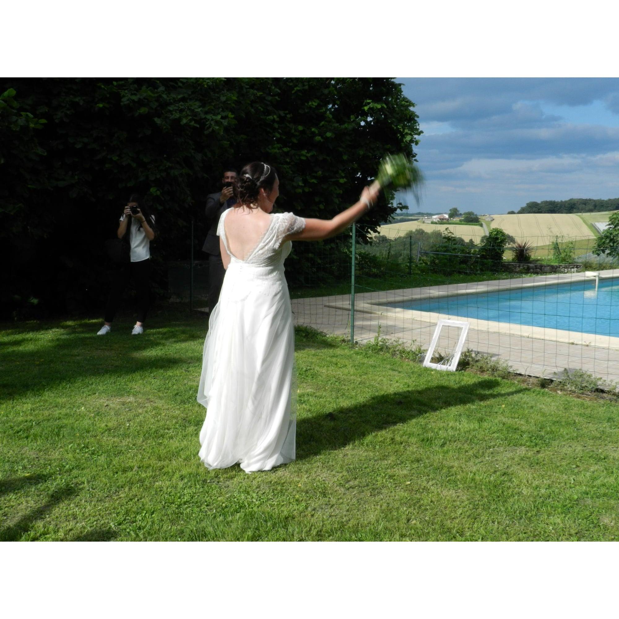 f76aef4484d2c Robe de mariée ELSA GARY 42 (L XL, T4) blanc - 8268024