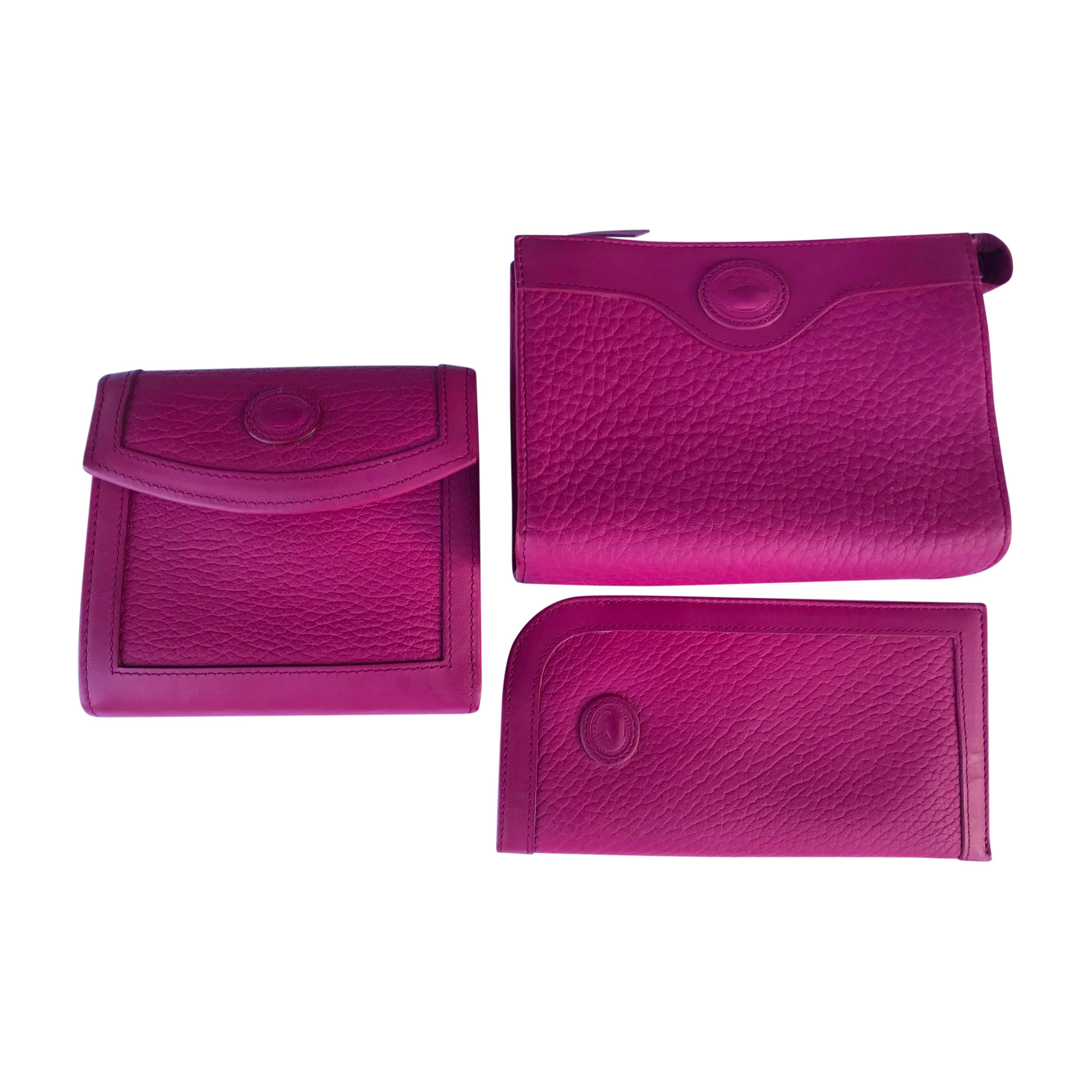 Porte-monnaie DOONEY & BOURKE cuir rose