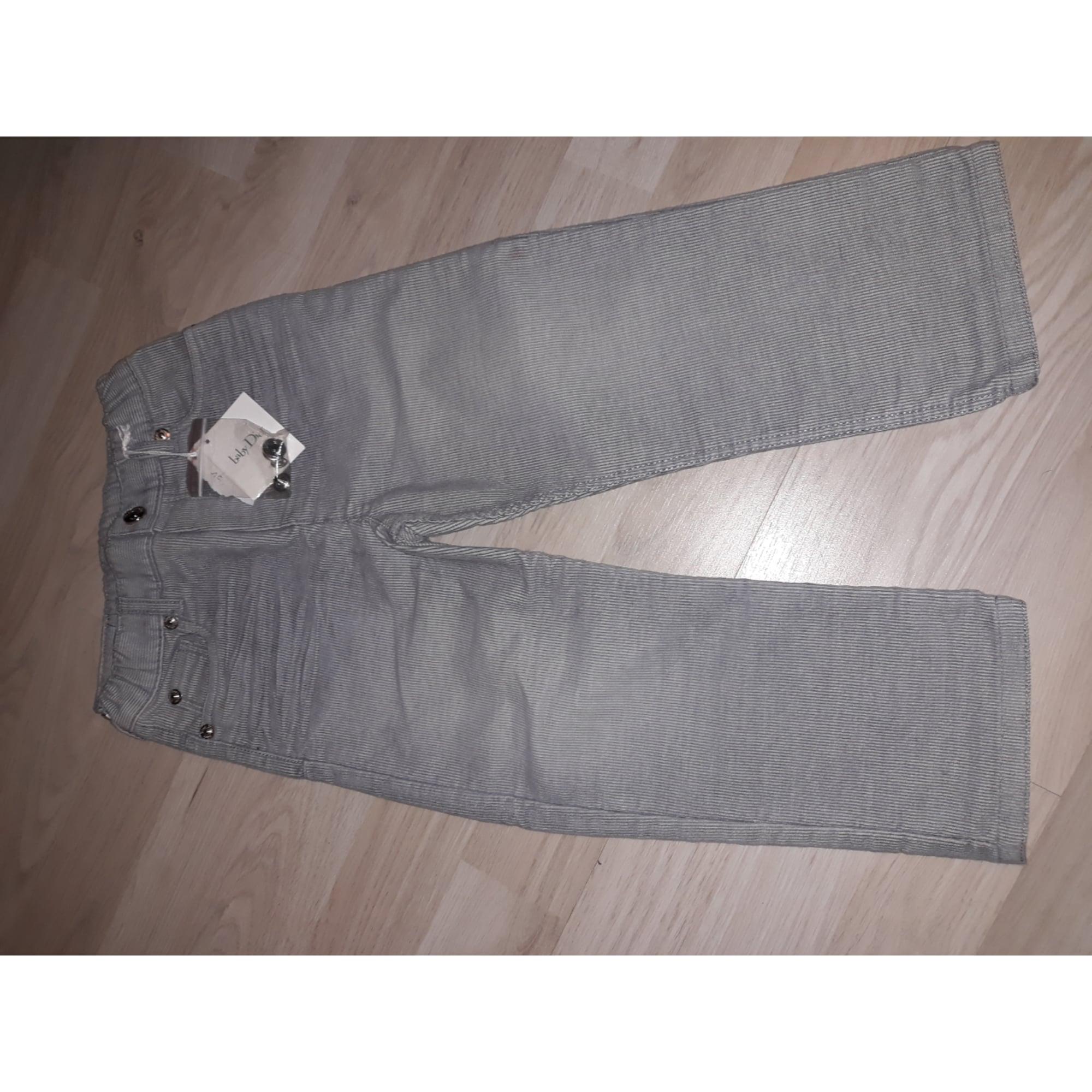 Pantalon DIOR Gris, anthracite