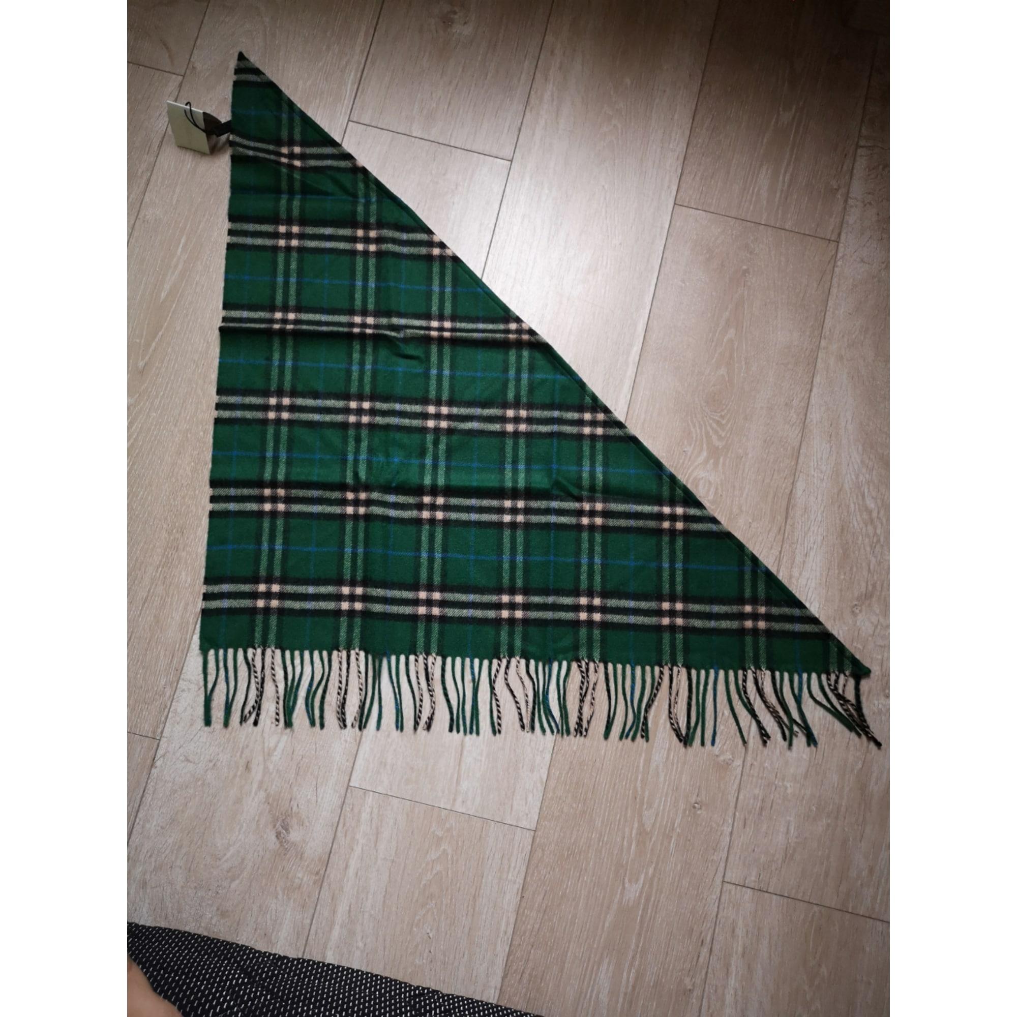 Echarpe BURBERRY vert - 8280097 5be0ff1bc81