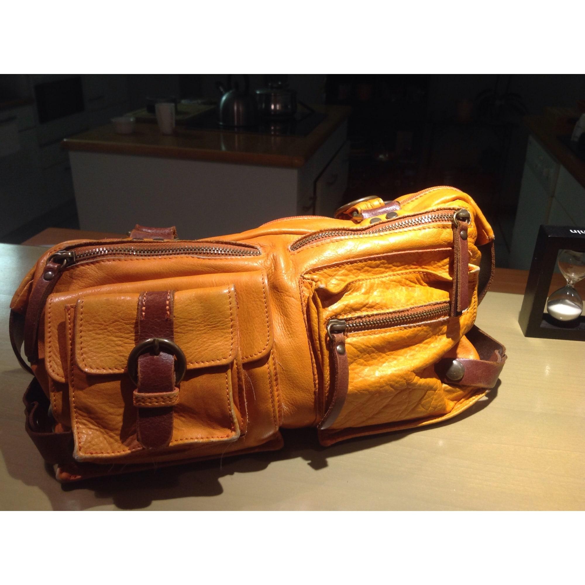 main Sac JEANNE cuir en 8282266 à CÉCILE amp; orange Uxw6qZHx
