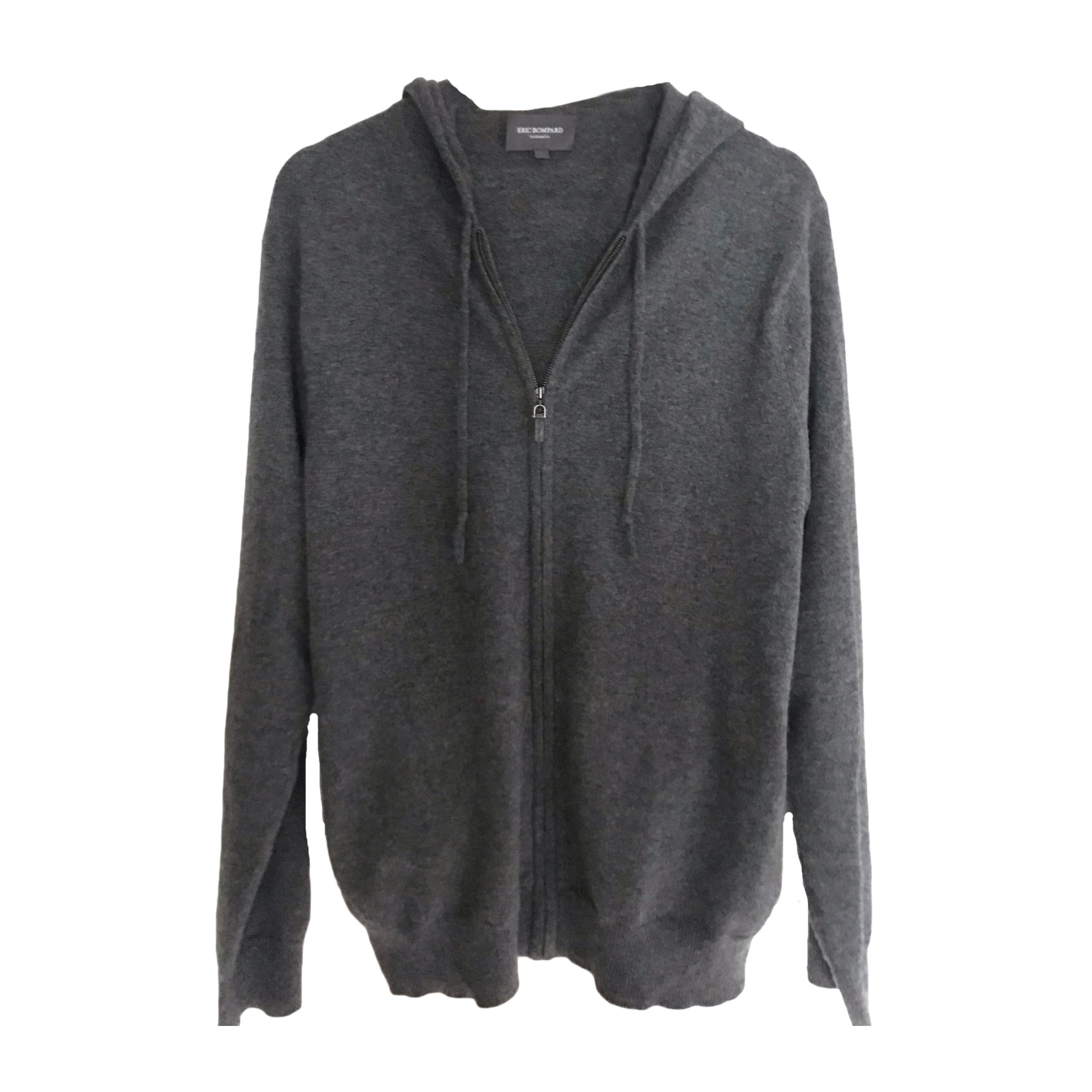 Vest, Cardigan ERIC BOMPARD Gray, charcoal