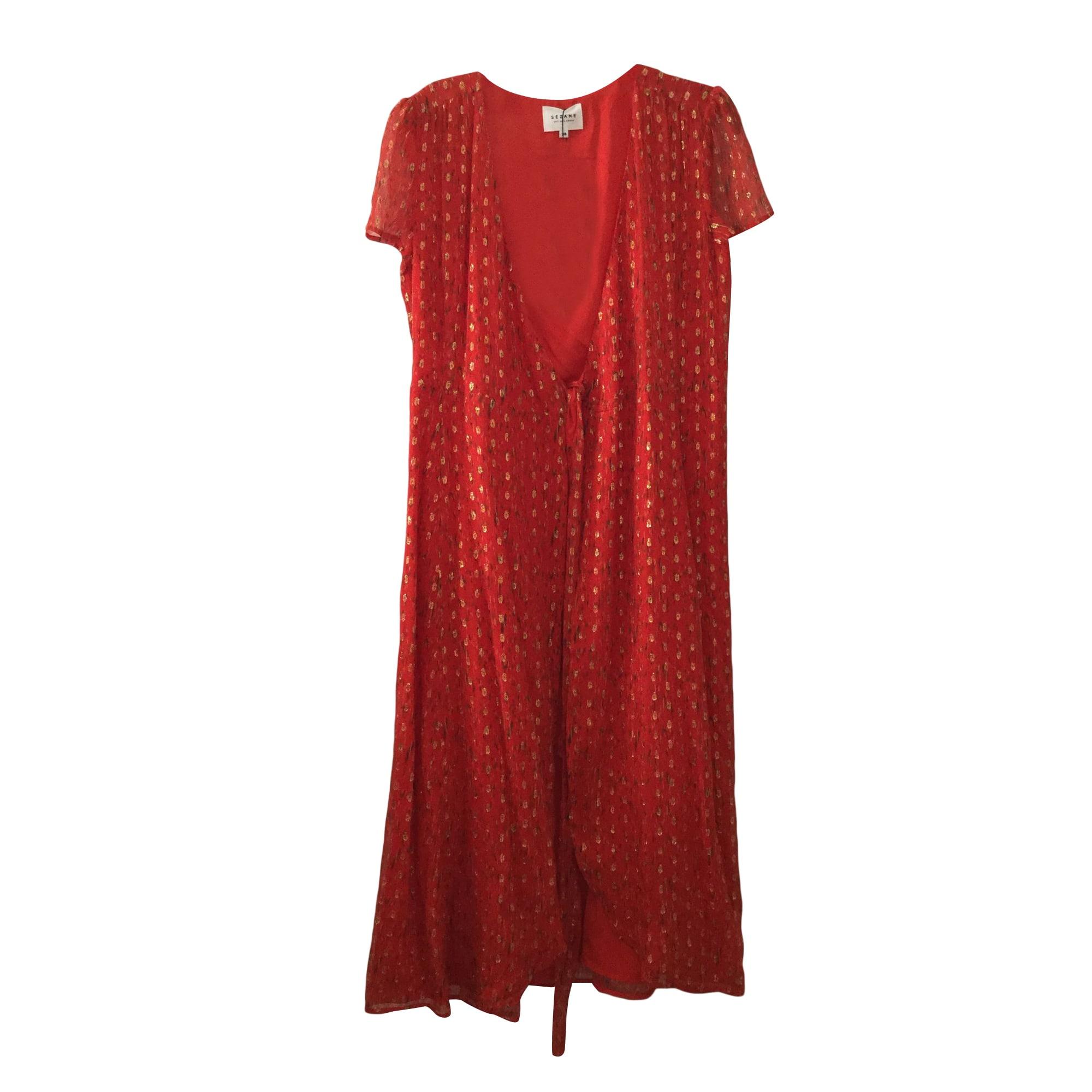14202f6293c Robe longue SÉZANE Multicouleur
