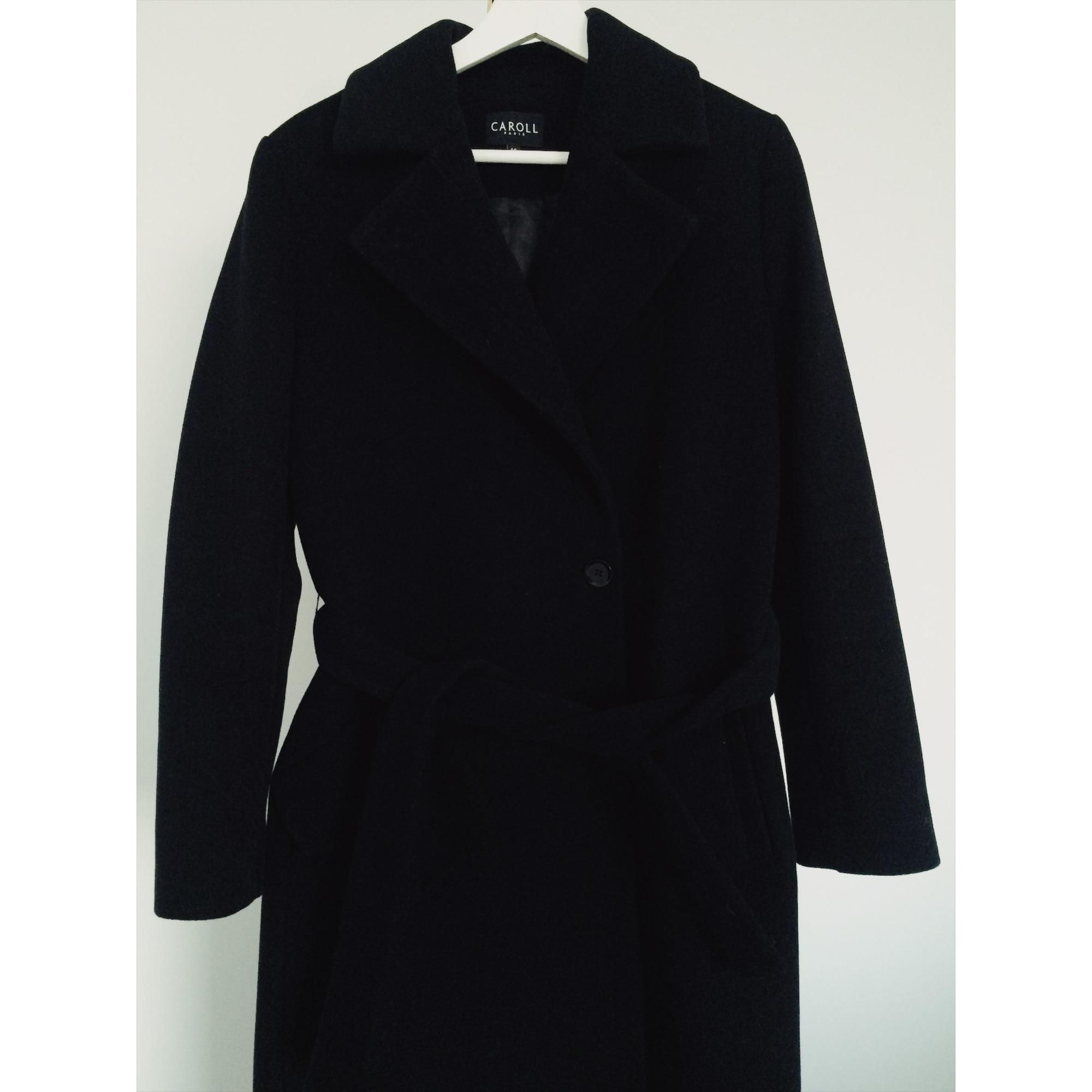 Manteau CAROLL 40 (L, T3) noir - 8291214 dc462c4bb94d