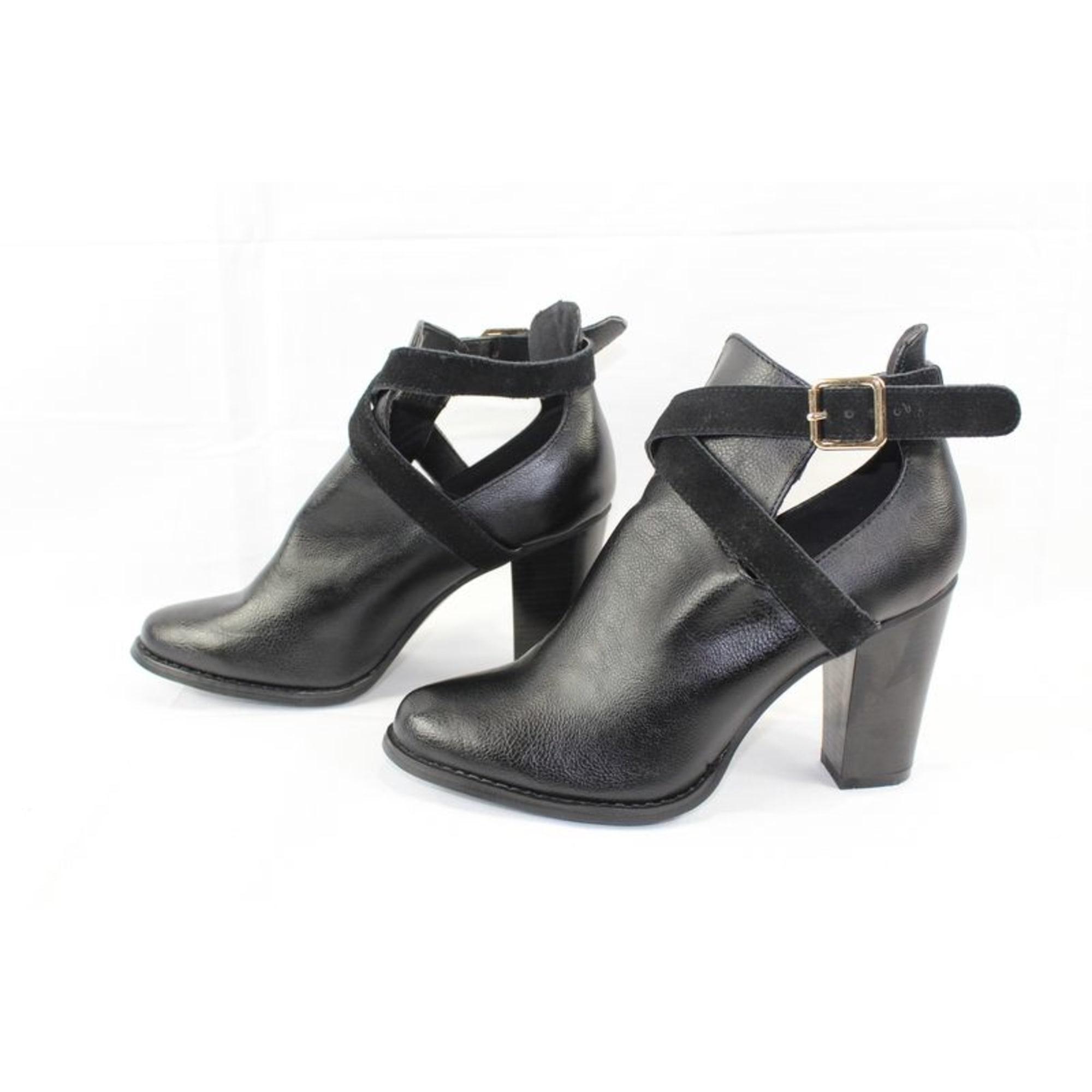 Bottines & low boots à talons ETAM Noir