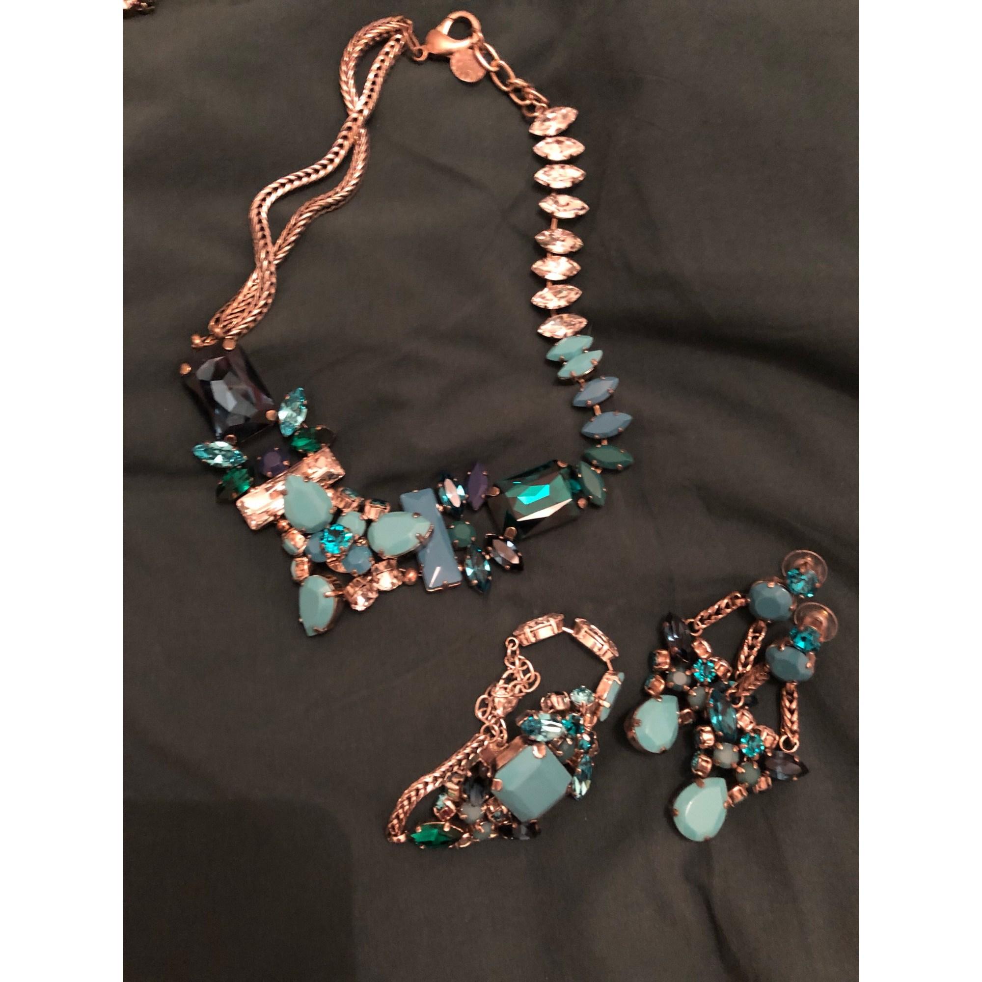 3c38219eff5e Parure bijoux REMINISCENCE bleu vendu par Elo2lyon - 8291724
