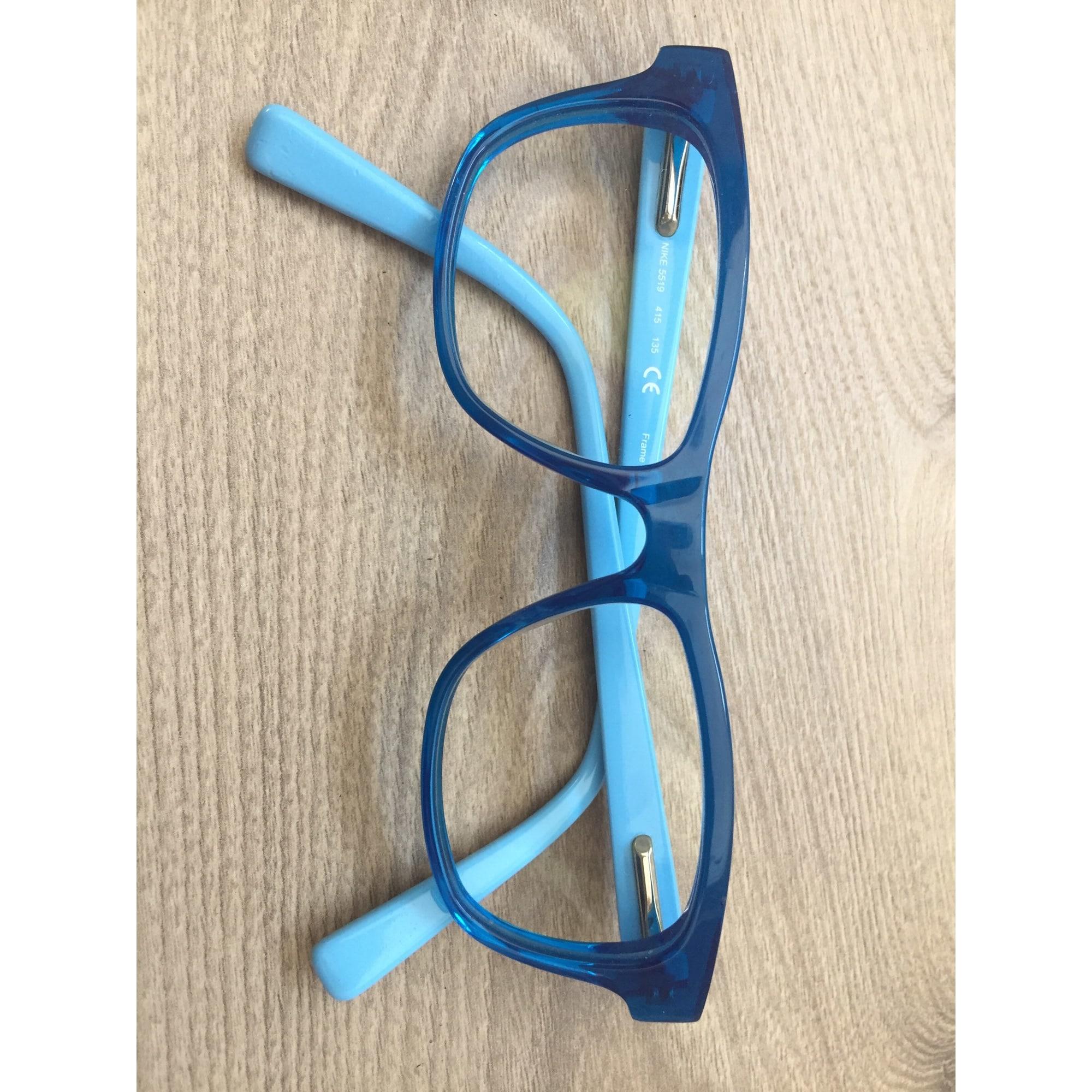 f06e368e4e023 Monture de lunettes NIKE 7-8 ans bleu - 8298141