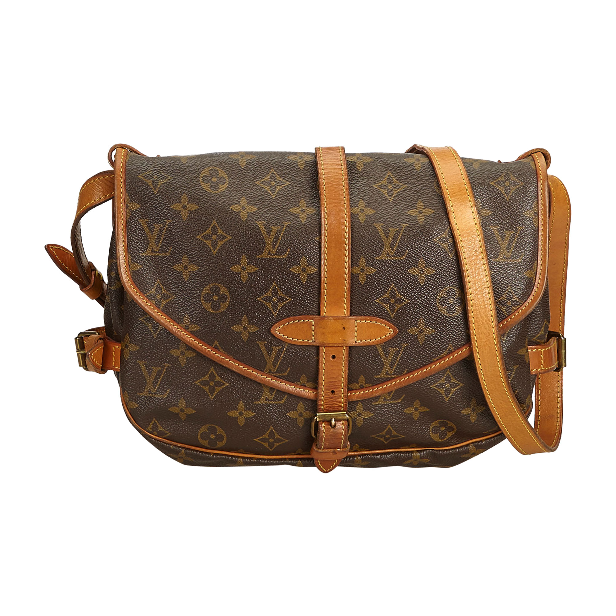 Sac en bandoulière en cuir LOUIS VUITTON brown - 8300819 c5ef3ec4883