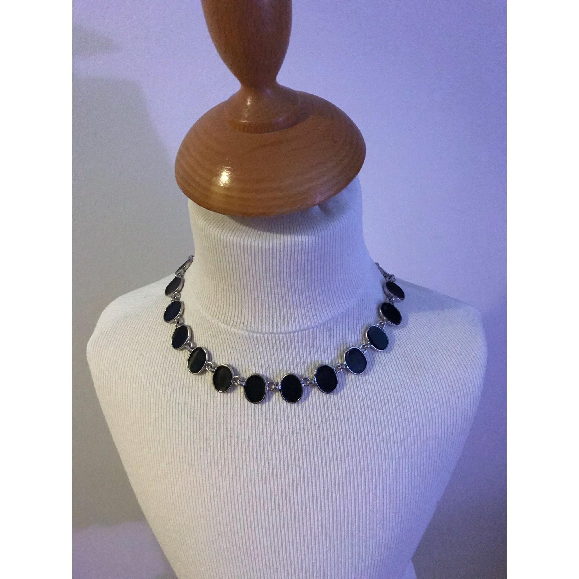 collier fantaisie noir