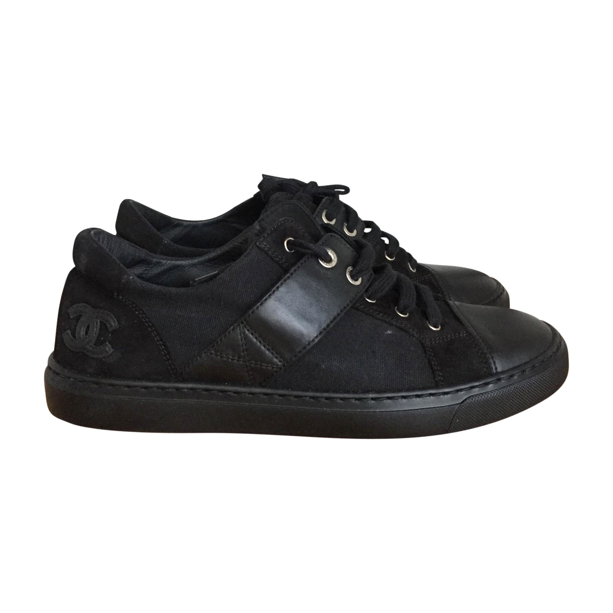 Baskets CHANEL 37,5 noir - 8325117 f926b737a09