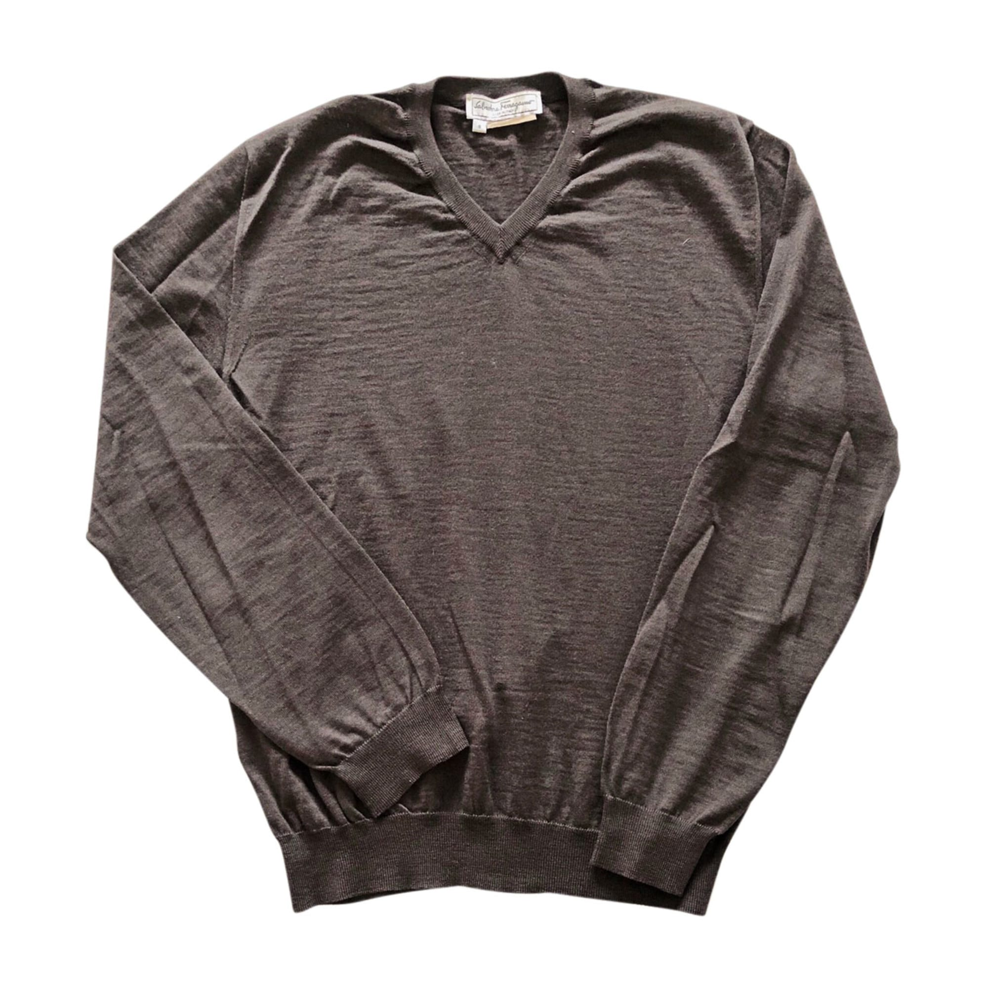 Sweater SALVATORE FERRAGAMO Brown