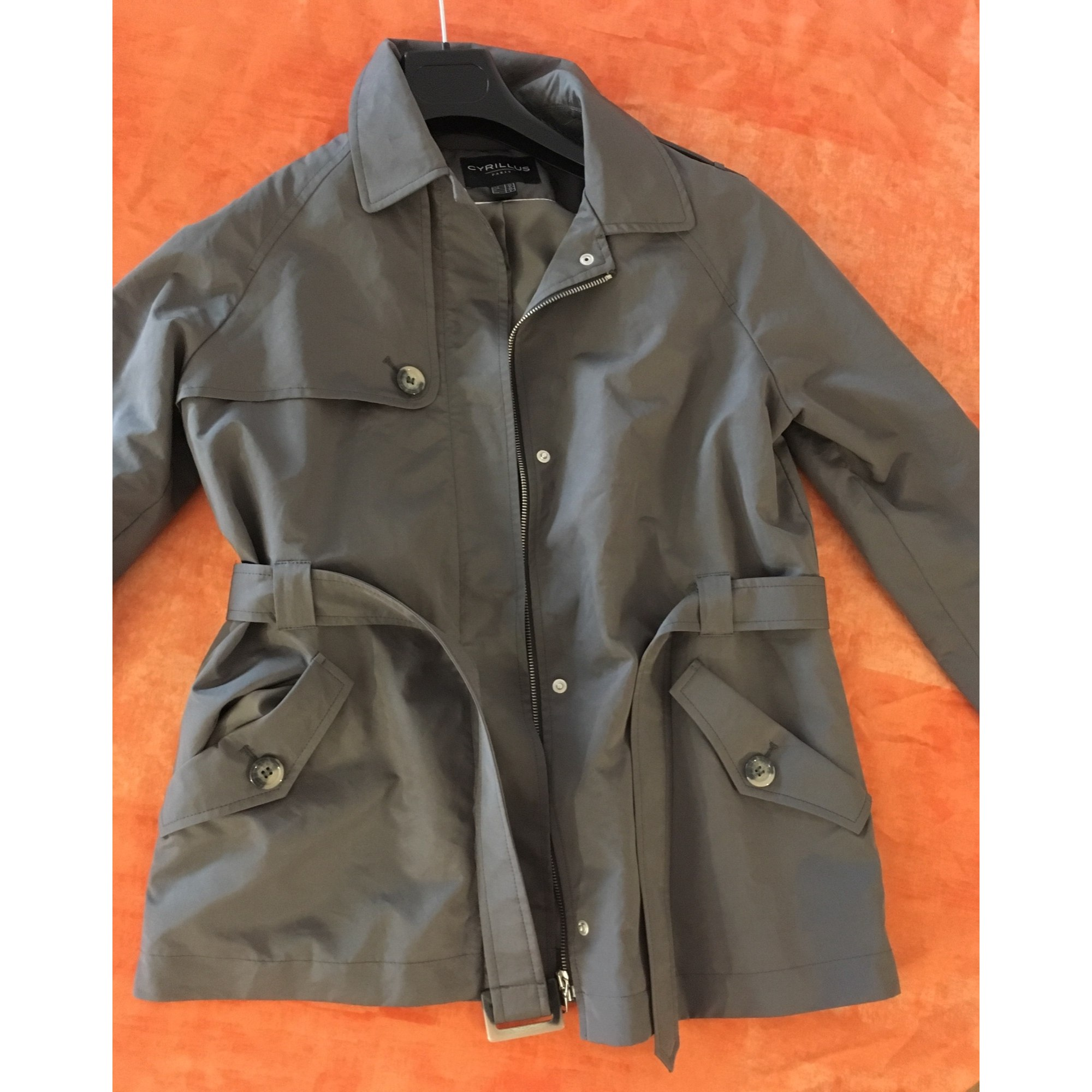 8327655 s Trench Cyrillus T1 Gris 36 Imperméable tAOwqYw