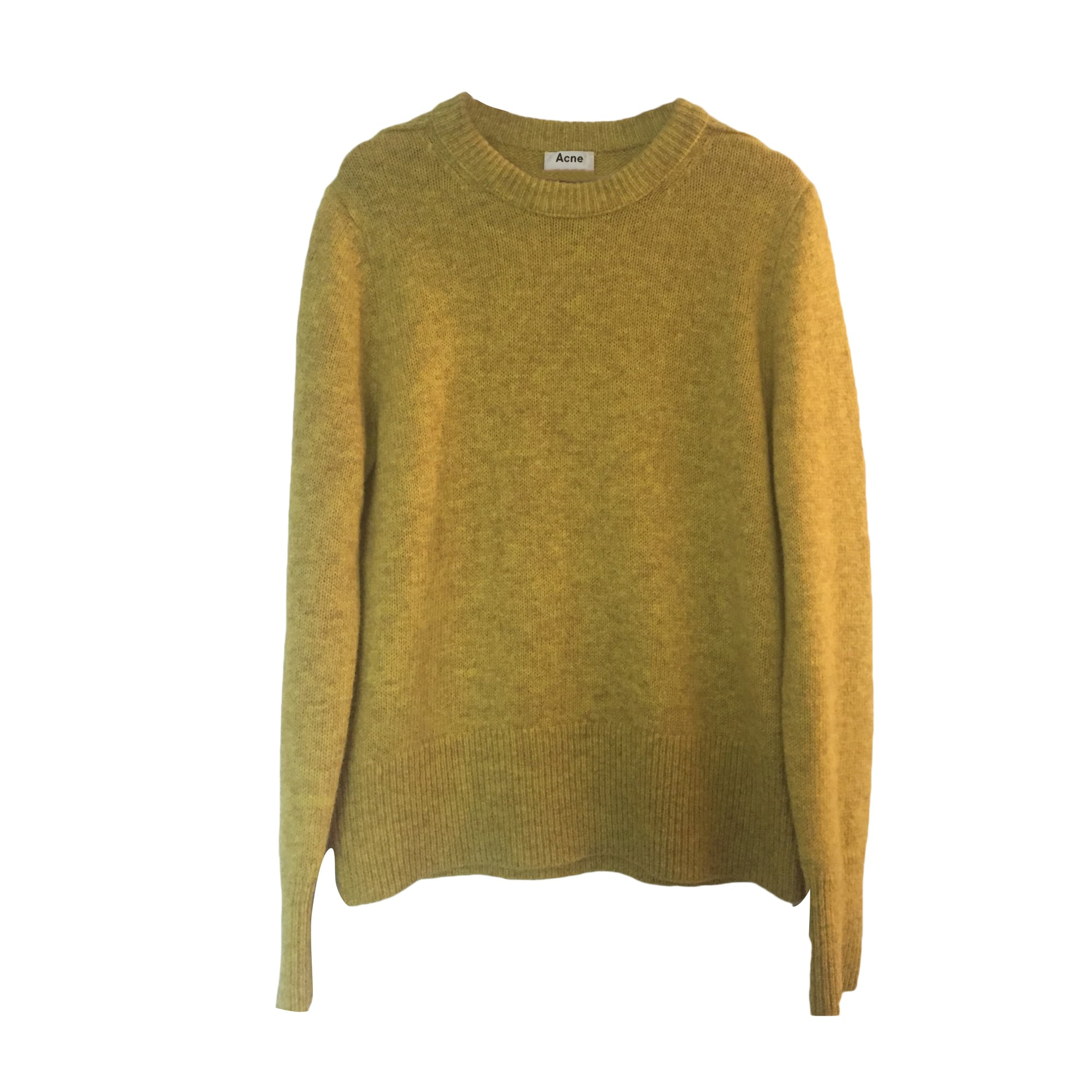 Sweater ACNE Yellow