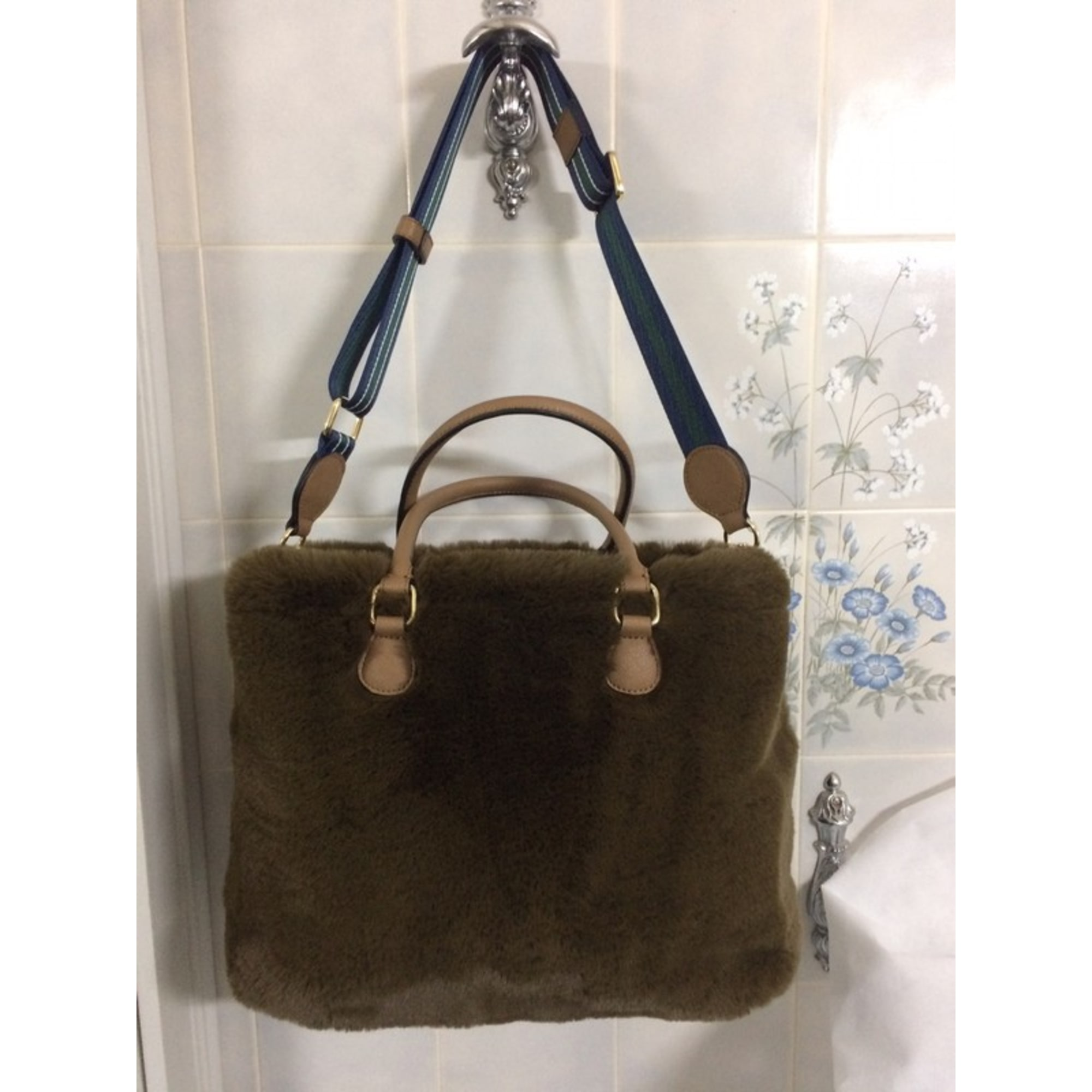 Sac à main en cuir ESSENTIEL ANTWERP polyester marron