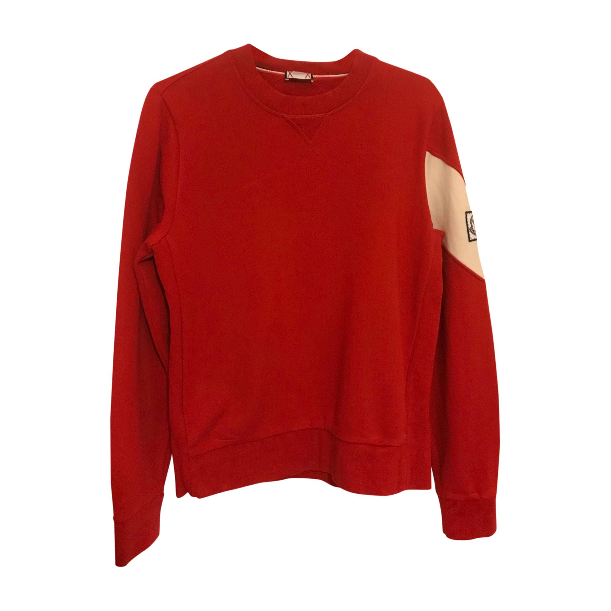 Sweatshirt MONCLER Red, burgundy