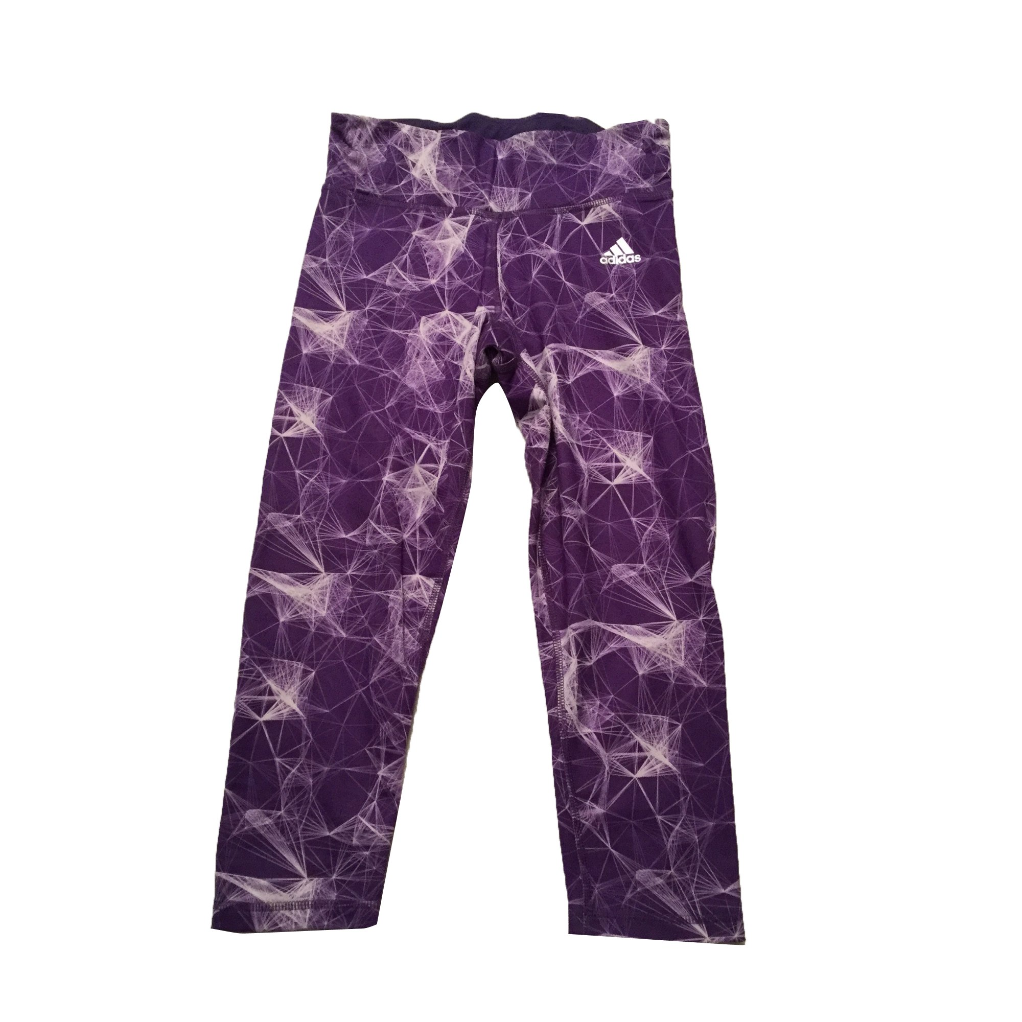 Yoga Pants ADIDAS Purple, mauve, lavender