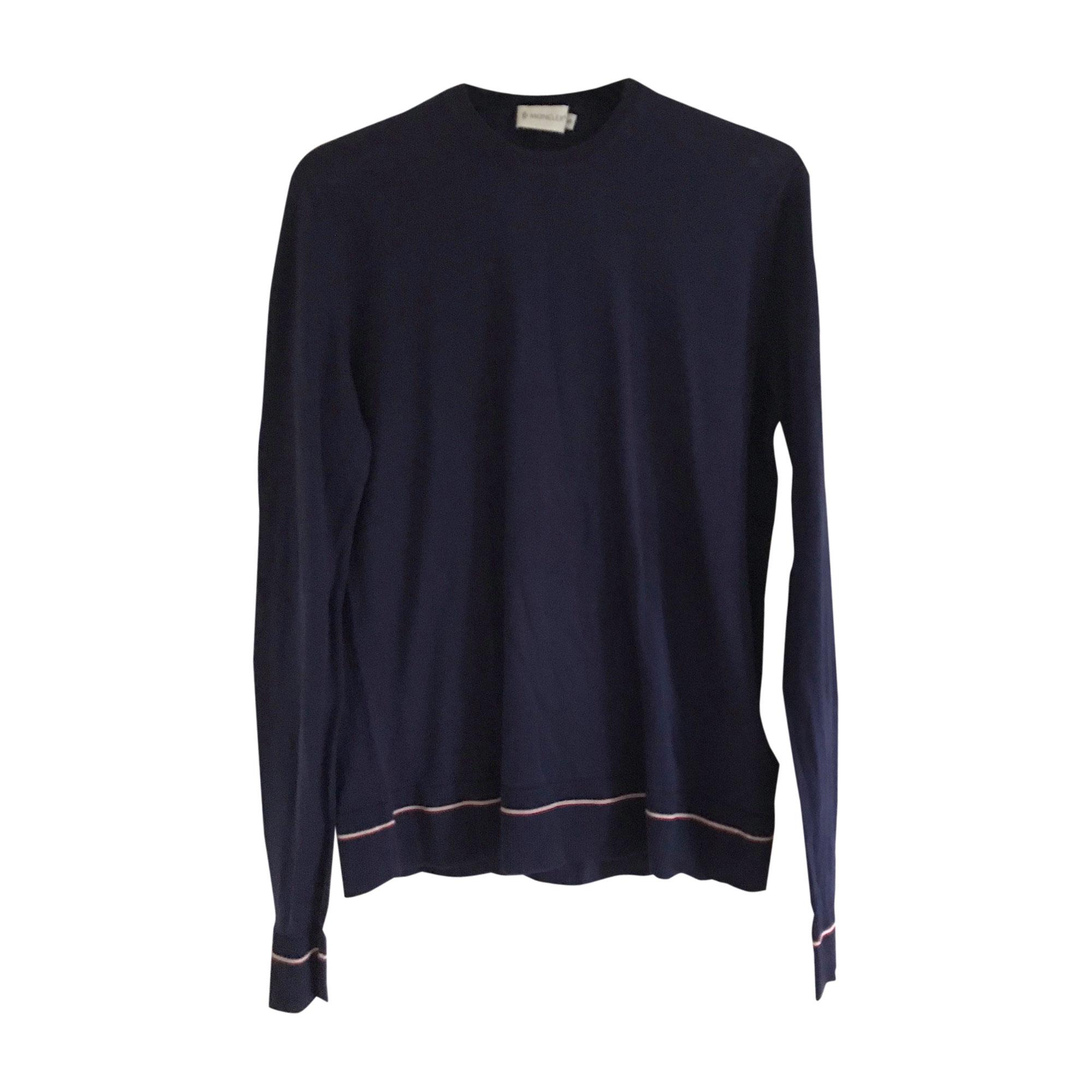 Sweater MONCLER Purple, mauve, lavender