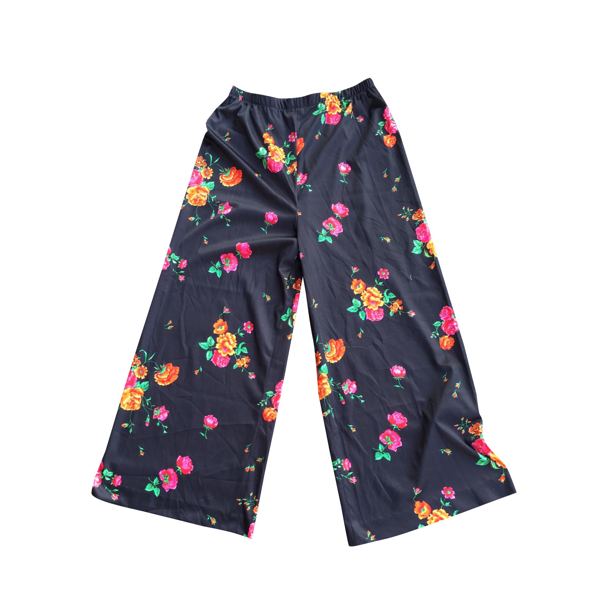 Pantalon large VINTAGE Multicouleur