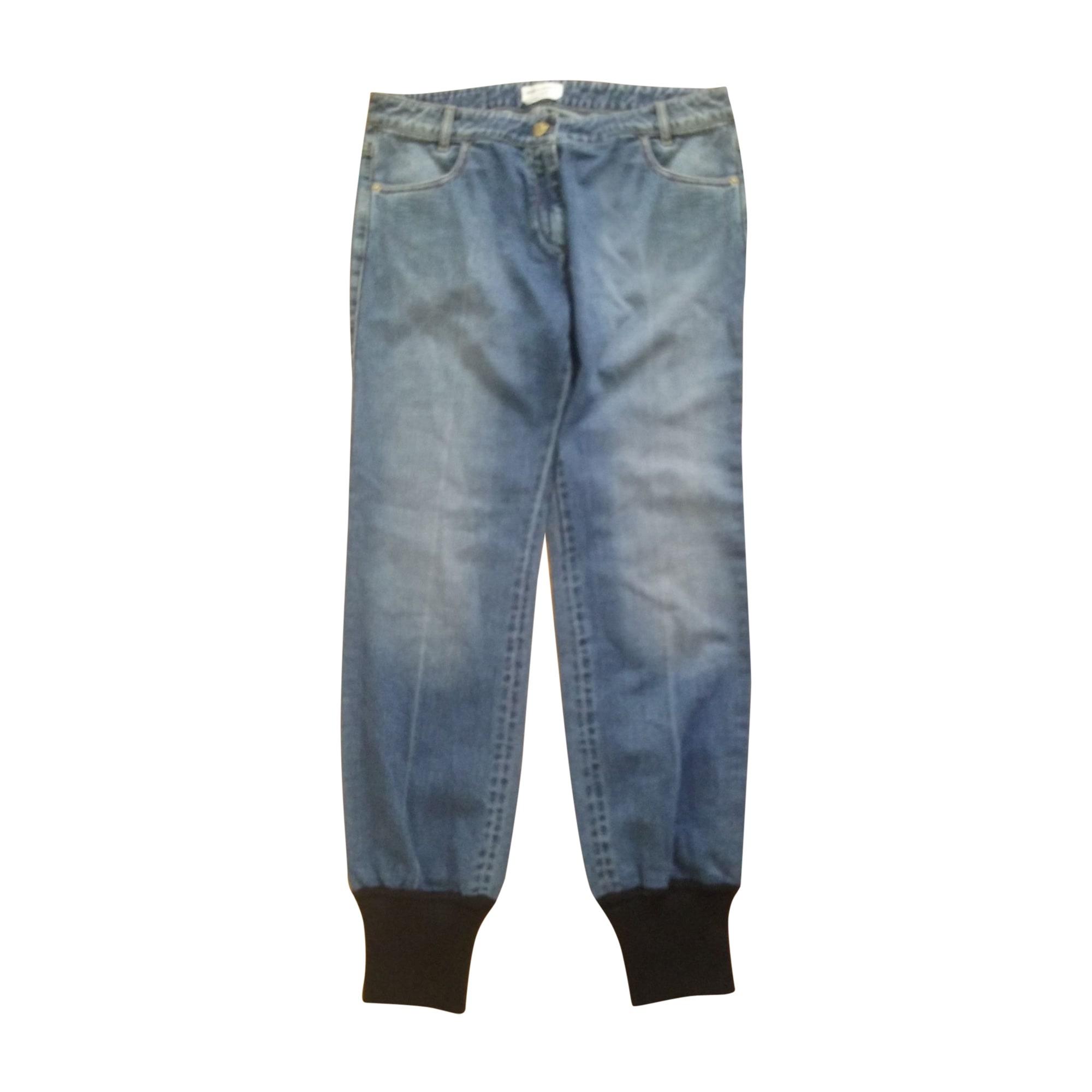 Jeans droit SONIA RYKIEL Bleu, bleu marine, bleu turquoise