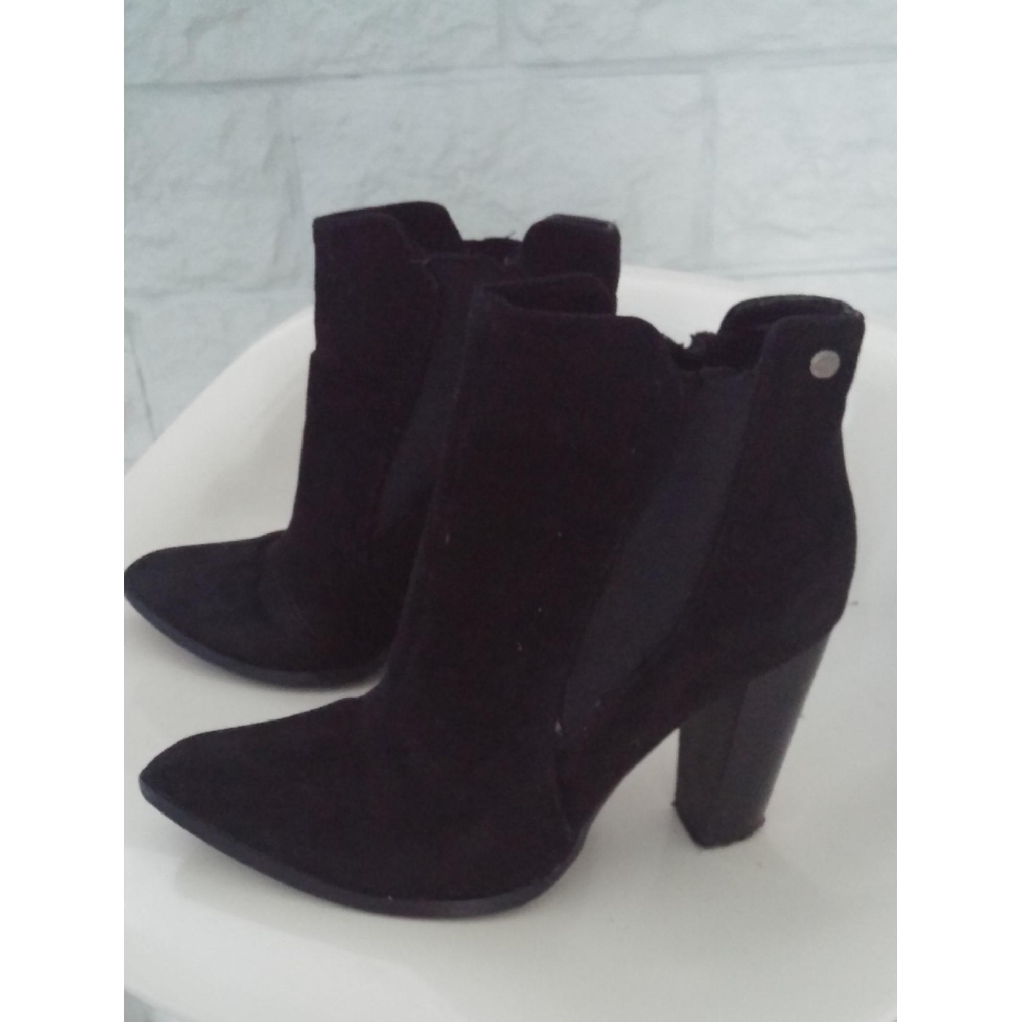 Bottines & low boots à talons KAPORAL Noir
