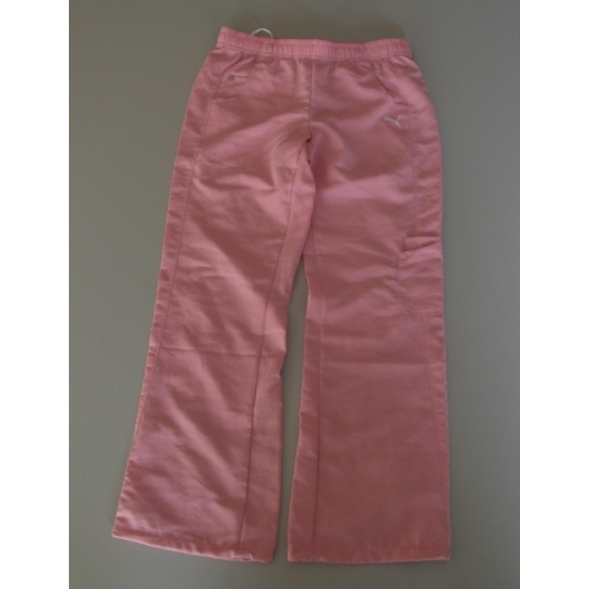 7a72cd8246579 Pantalon de survêtement PUMA synthétique rose 11-12 ans