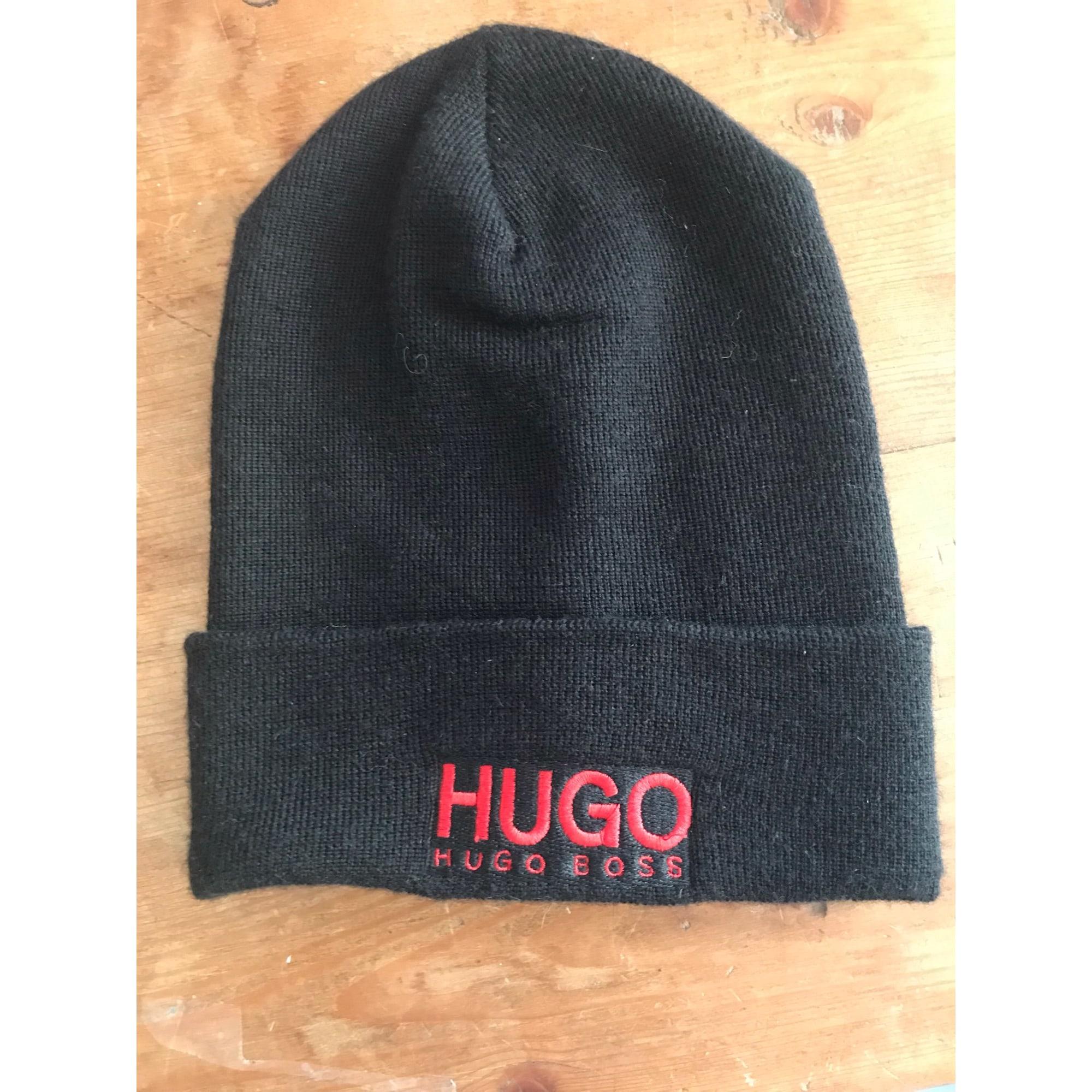 89fac4a374f Bonnet HUGO BOSS Taille unique noir logo rouge - 8359478