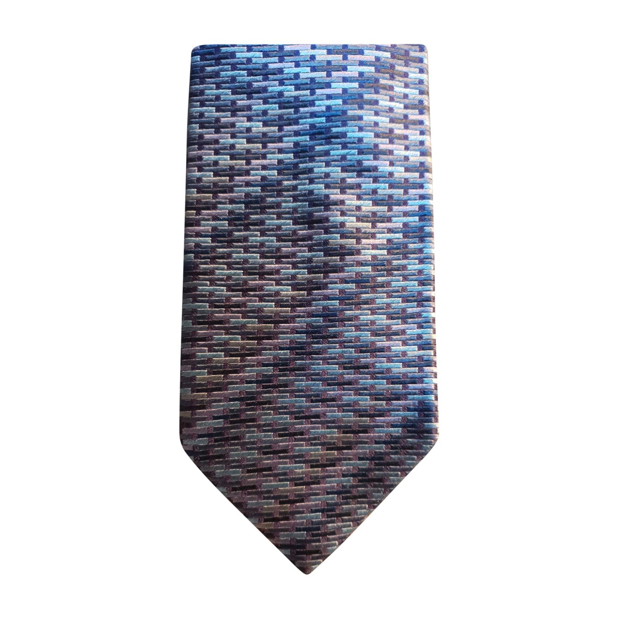 Cravatta SALVATORE FERRAGAMO Blu, blu navy, turchese