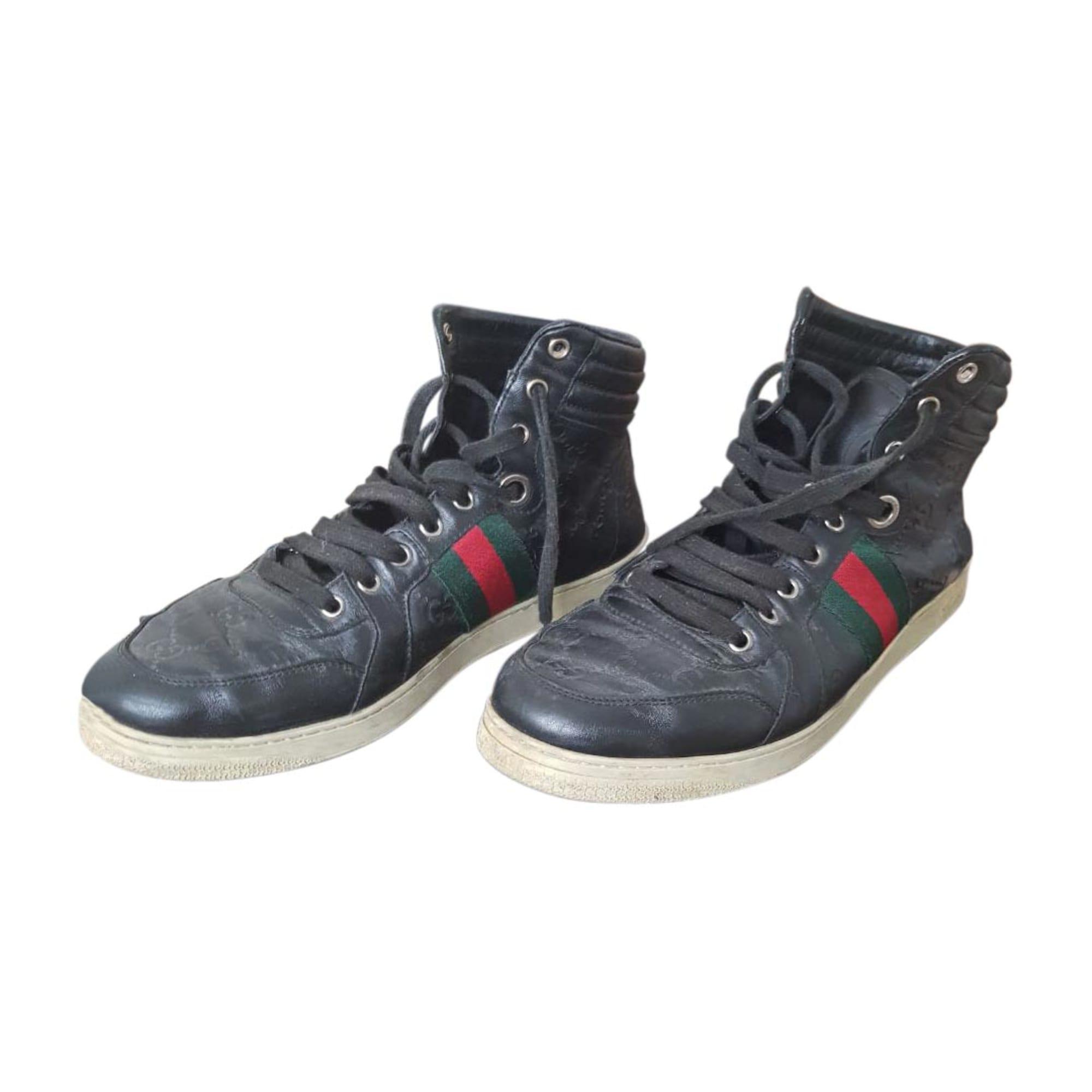 e2622cf8606f Chaussures à lacets GUCCI 42 noir - 8363212