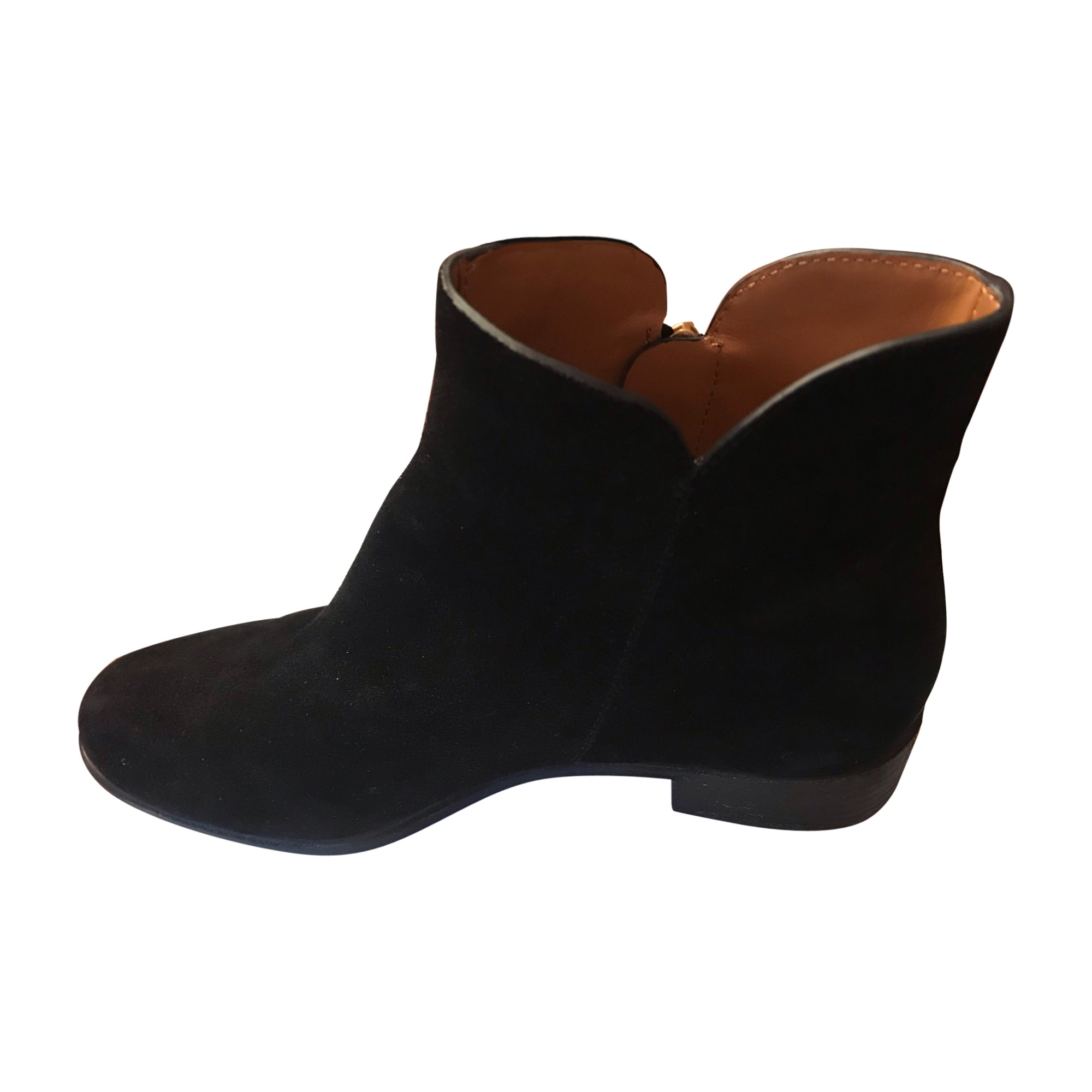 Bottines & low boots plates SEE BY CHLOE Noir