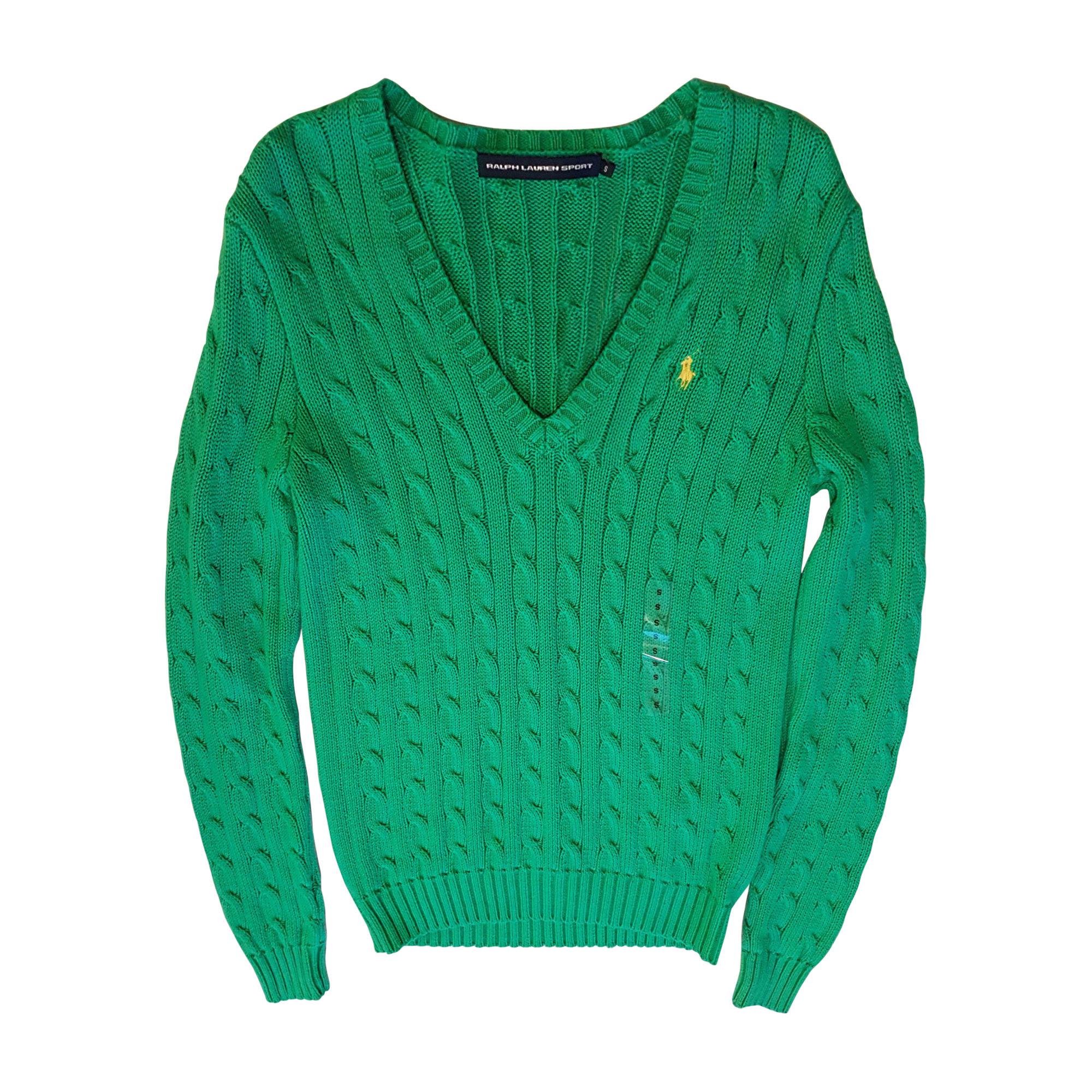 45515aa7e668 Pull RALPH LAUREN 36 (S, T1) vert - 8368726