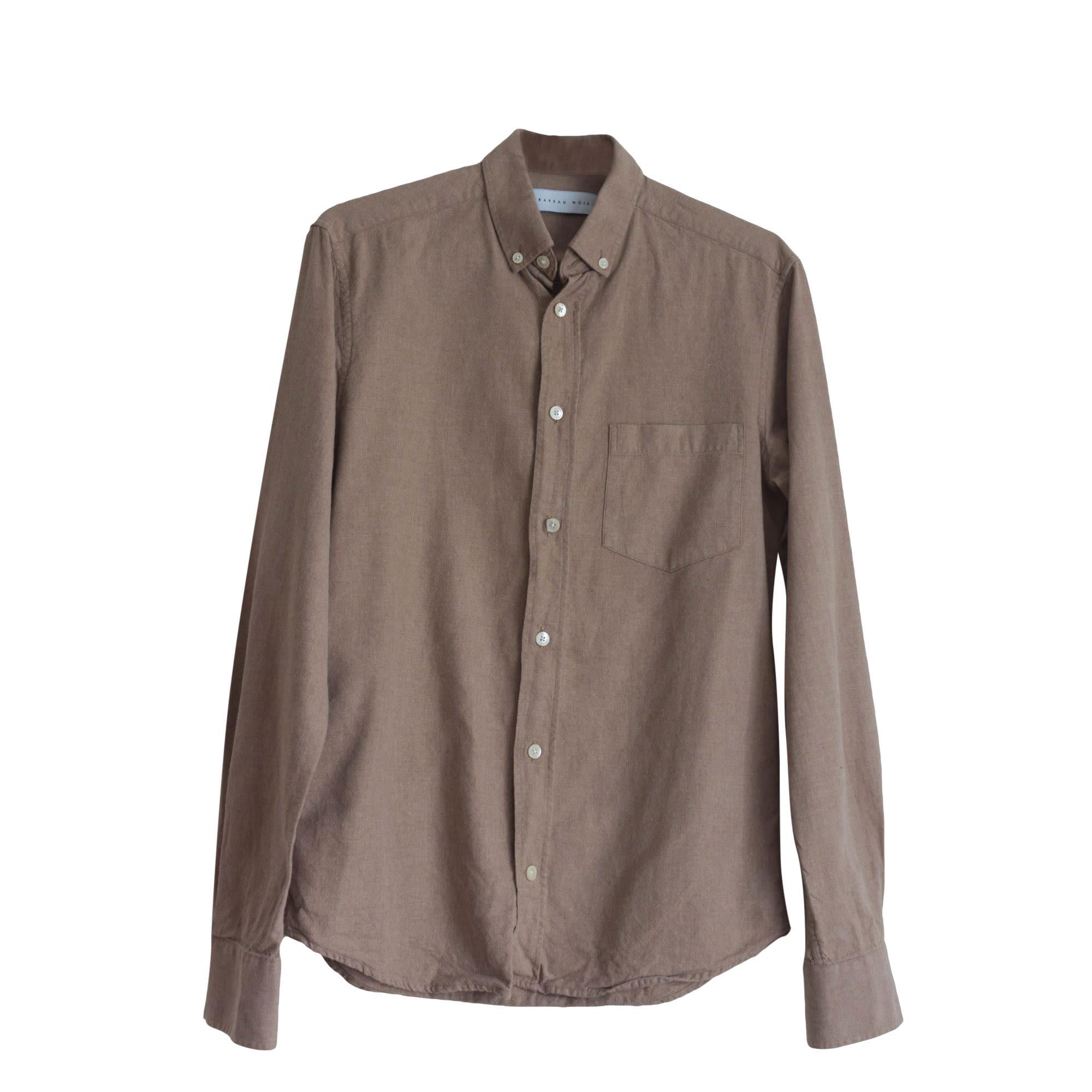 Shirt DRAPEAU NOIR Beige, camel