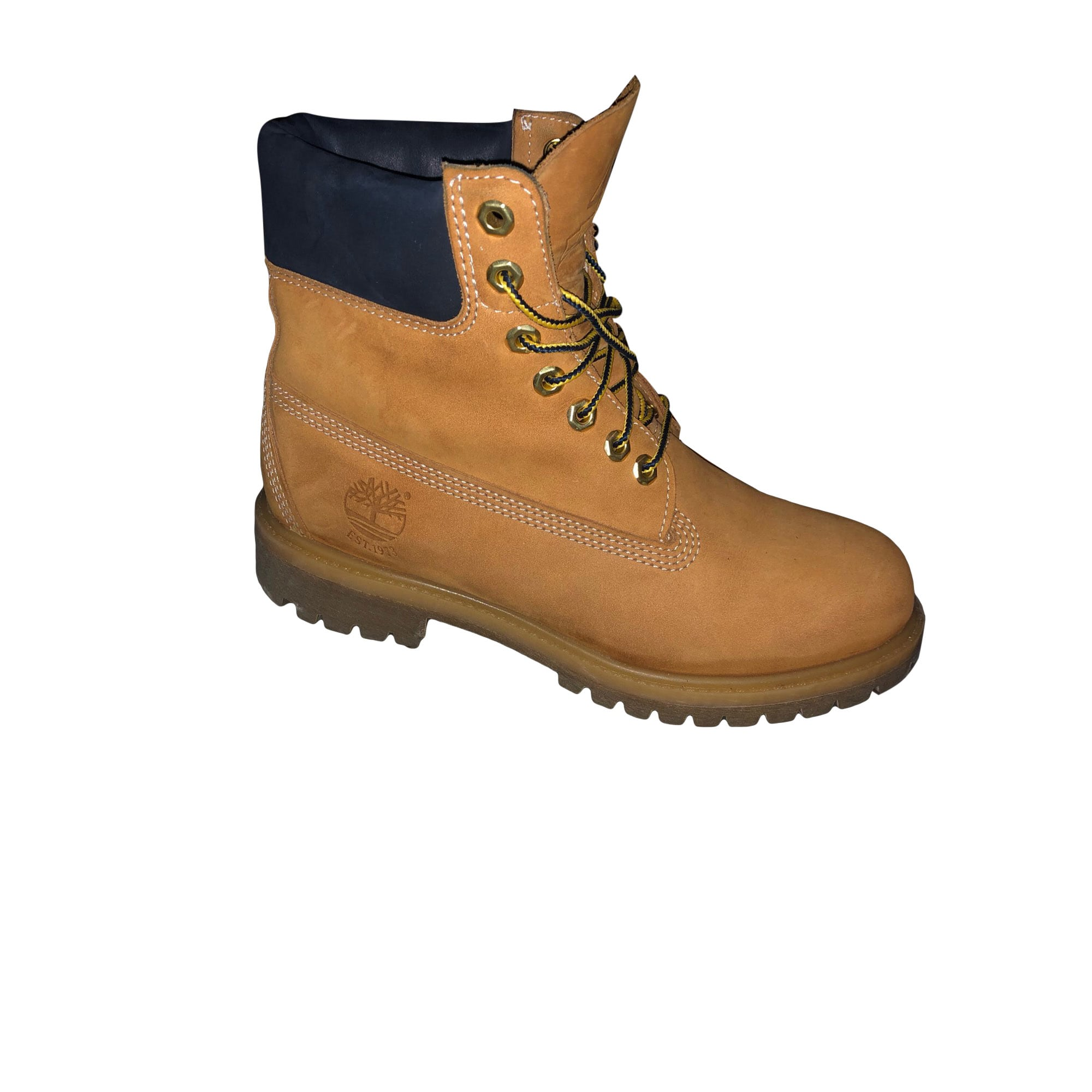 50254814cff Chaussures à lacets TIMBERLAND 40 jaune - 8369406