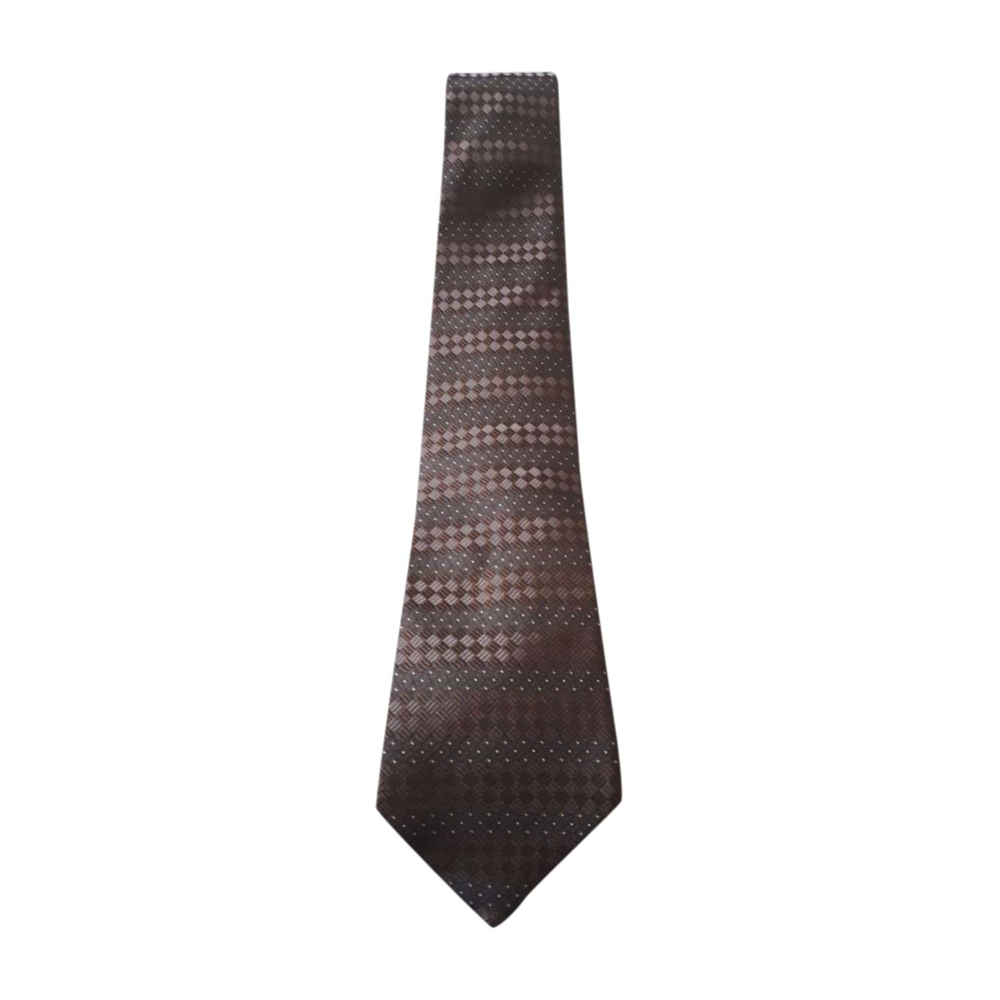 Tie LOUIS VUITTON Brown