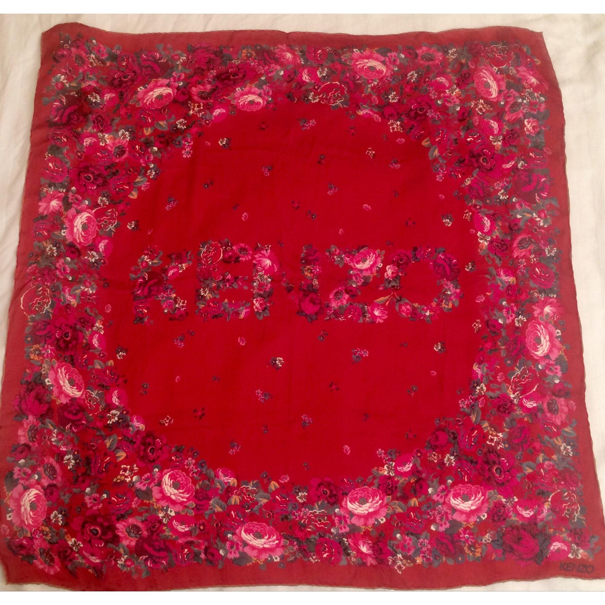 Foulard KENZO rouge vendu par Stellabergen - 8372494 5a803a47cb9