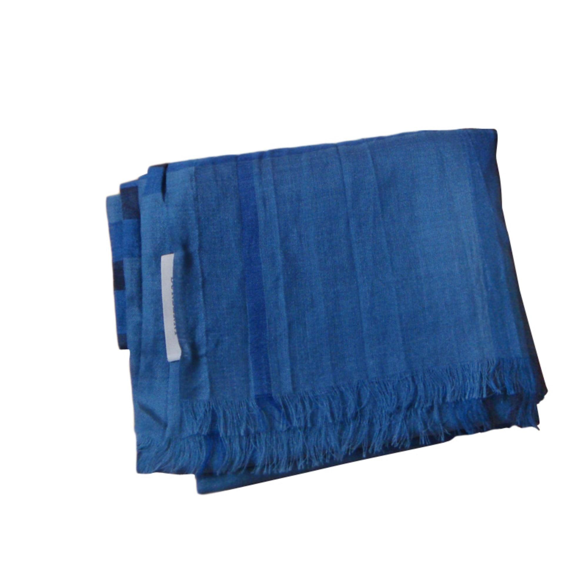 1ee464cf3005 Echarpe Burberry Bleu Marine