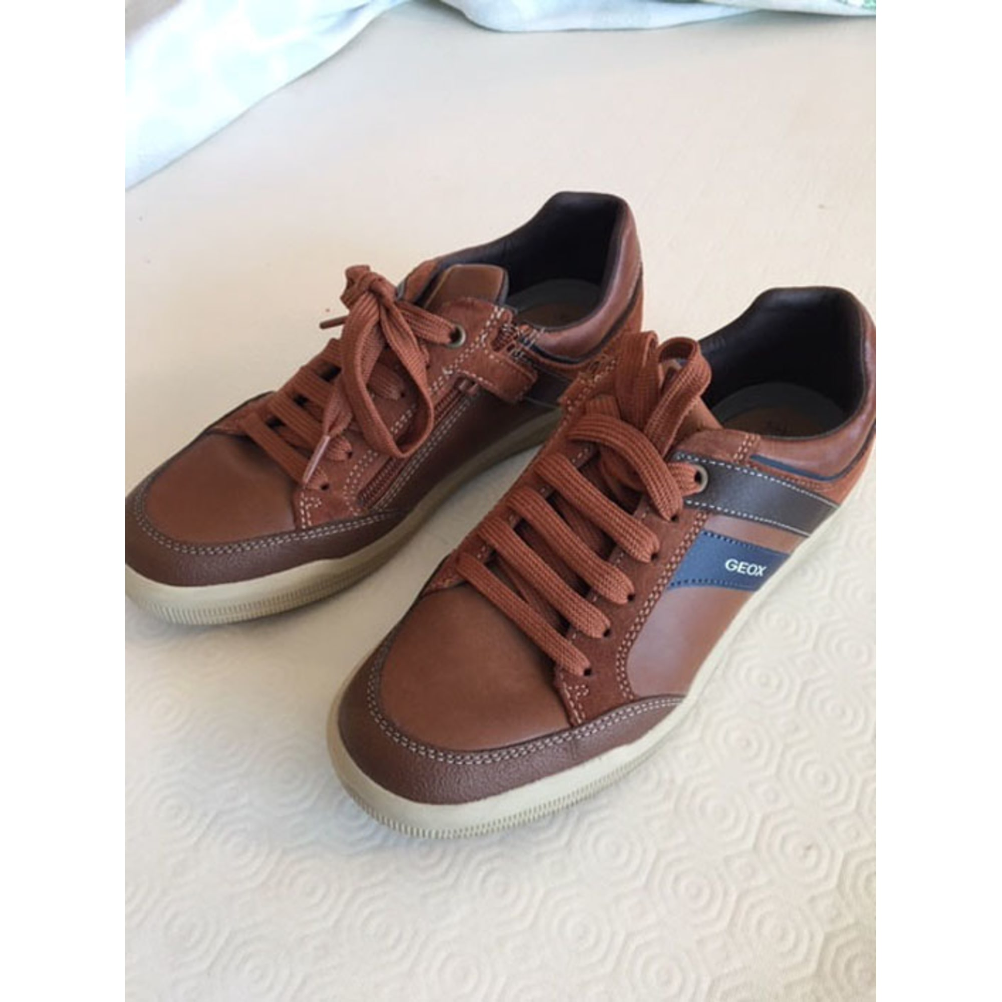 Chaussures à lacets GEOX 39 marron - 8374651 f713aa86598c