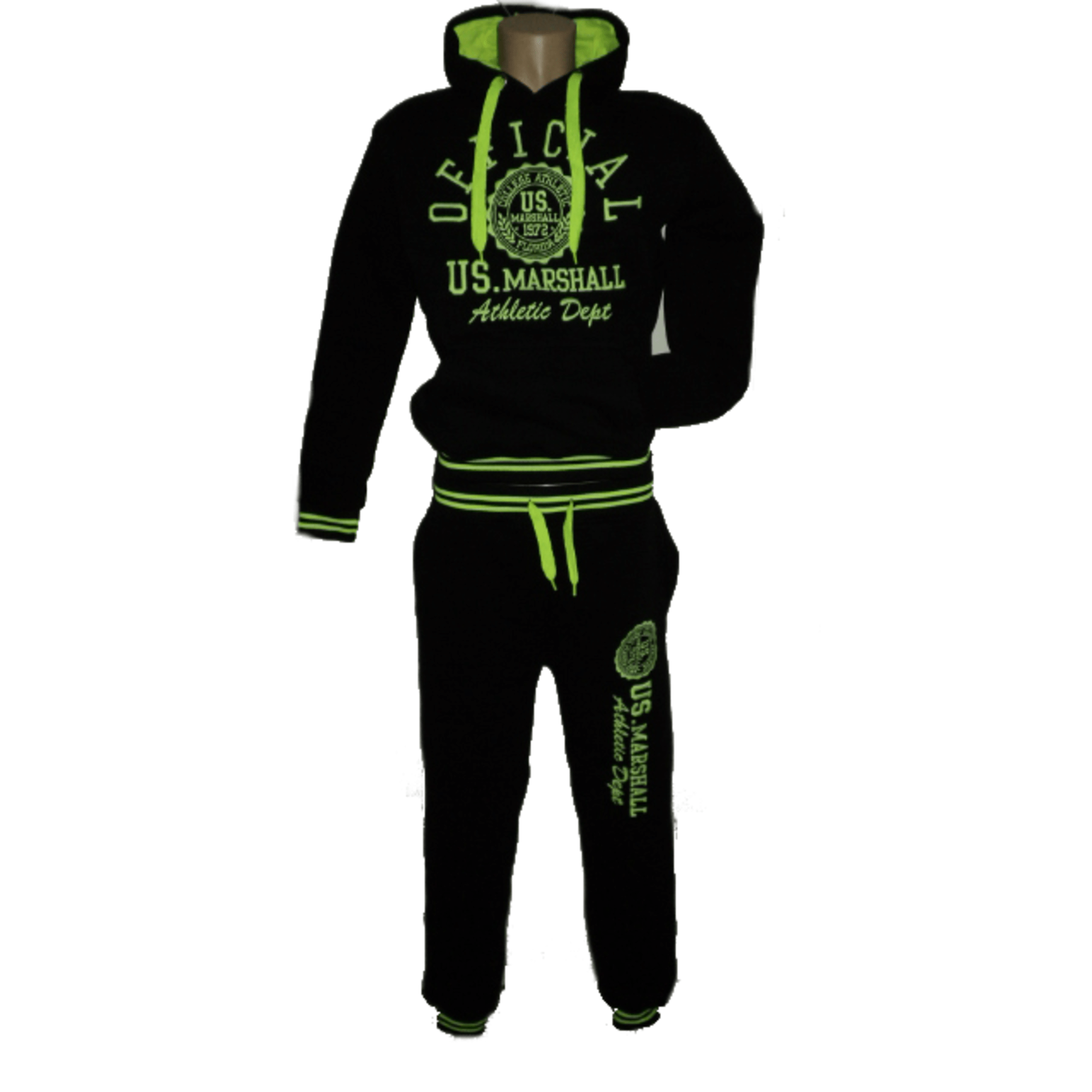Ensemble jogging US MARSHALL OFFICIAL 44 (S) noir - 837851 70618ae6e97