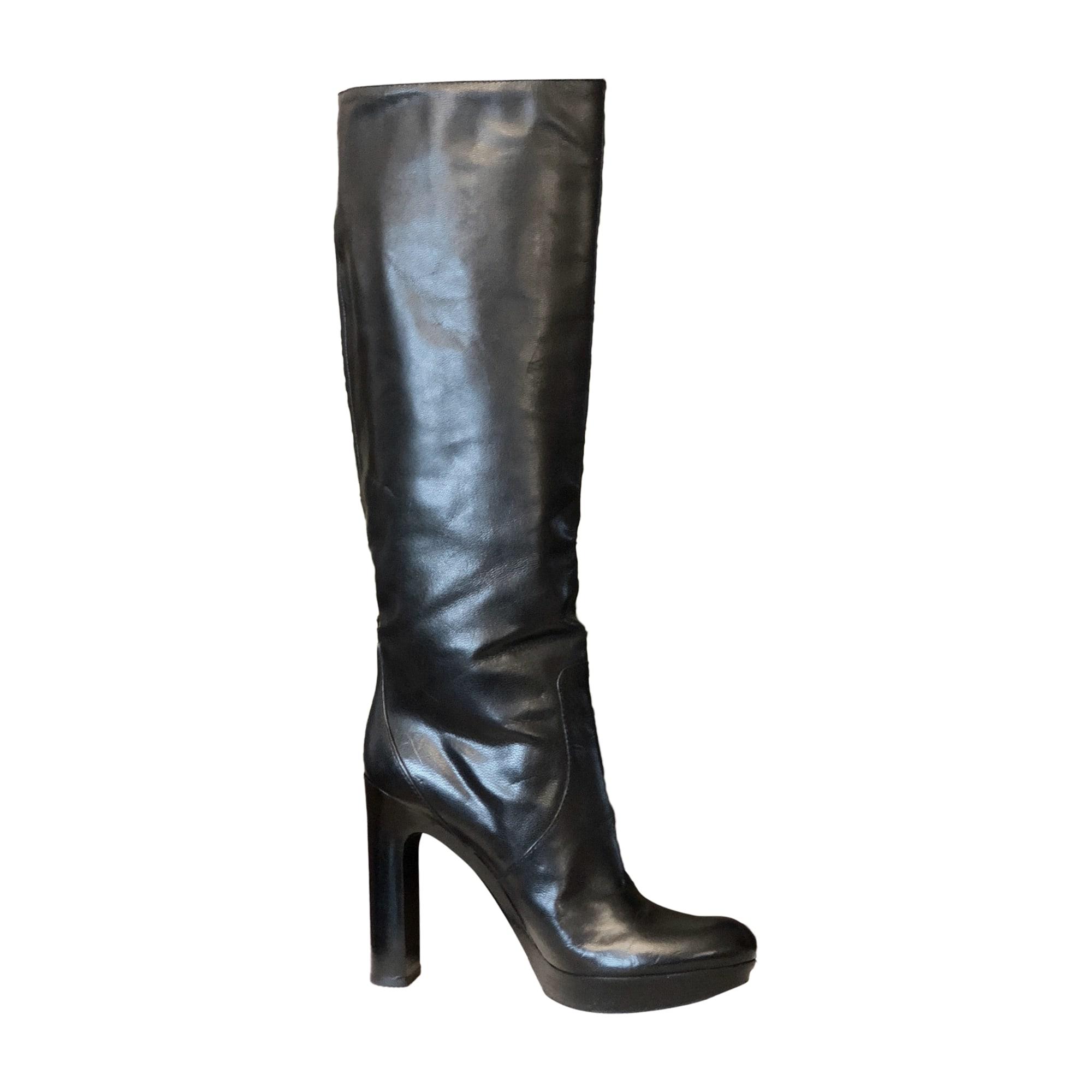 High Heel Boots GUCCI Black
