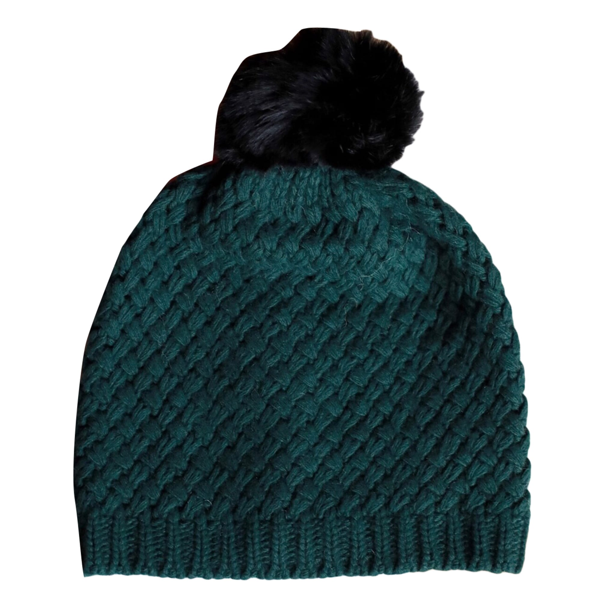 Bonnet SÉZANE Taille unique vert vendu par Azsand - 8381197 ae05f9bc917