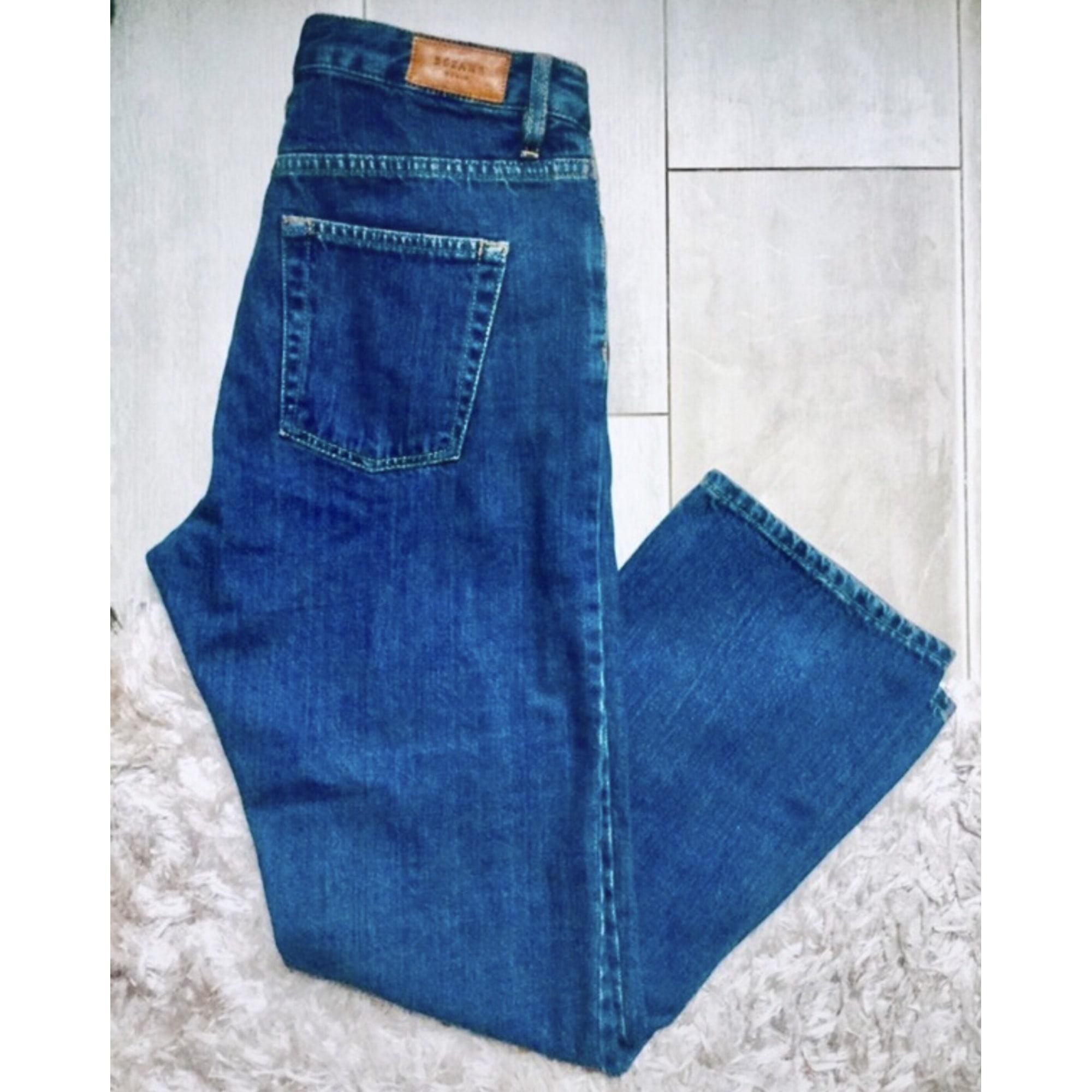 Jeans large, boyfriend SÉZANE Brut