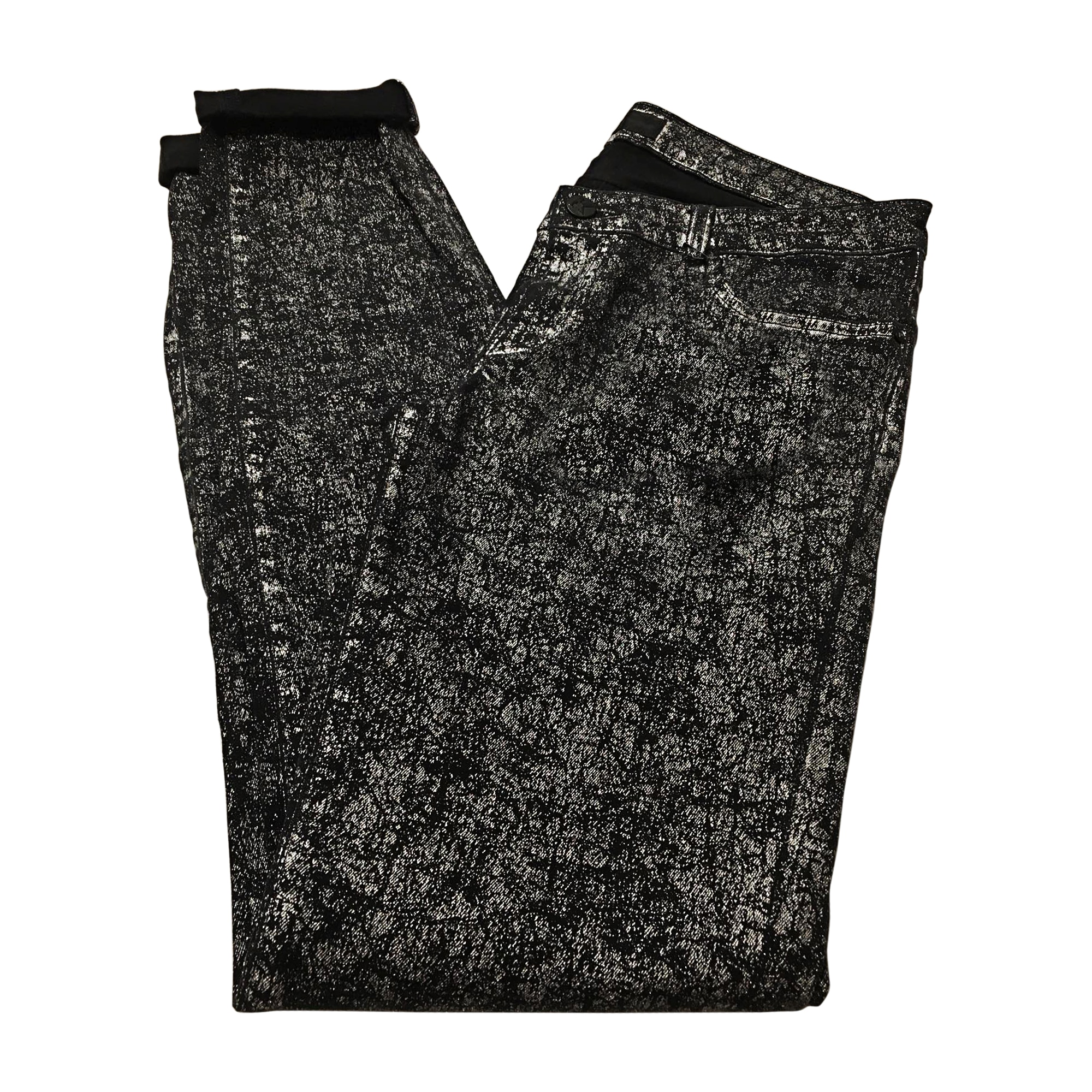 Jeans slim KARL LAGERFELD Gris, anthracite
