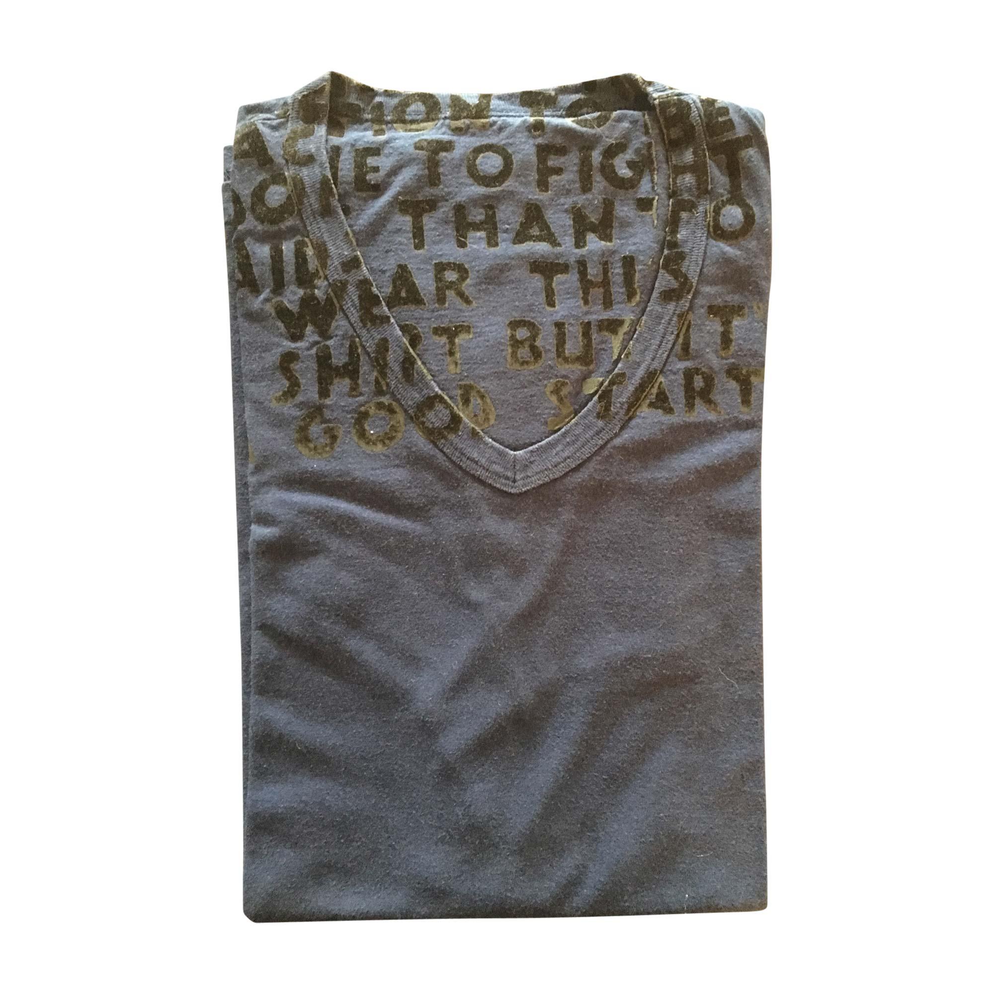 T-shirt MAISON MARTIN MARGIELA Blue, navy, turquoise