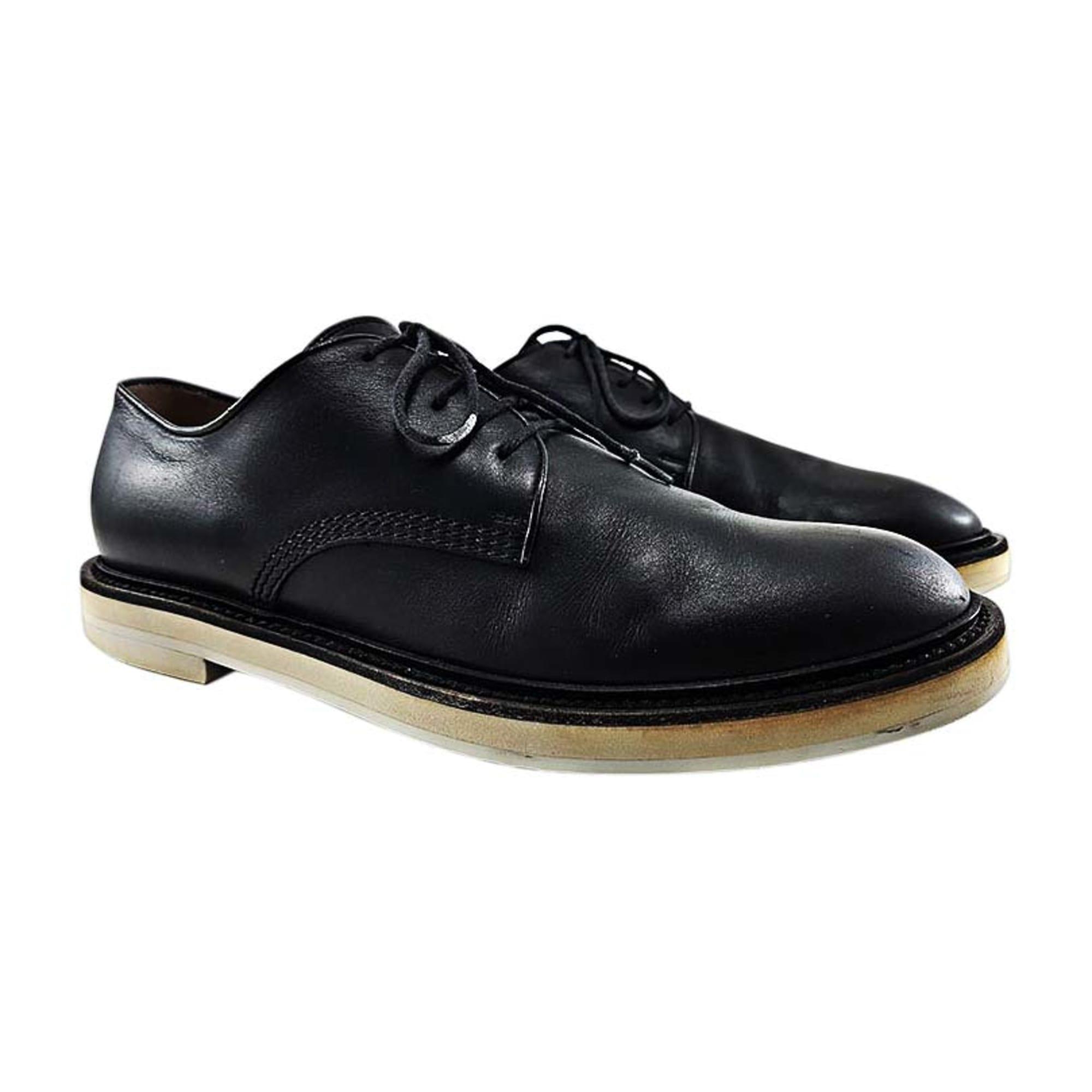 94f81cba0cf3 Chaussures à lacets GUCCI 40,5 noir - 8388747