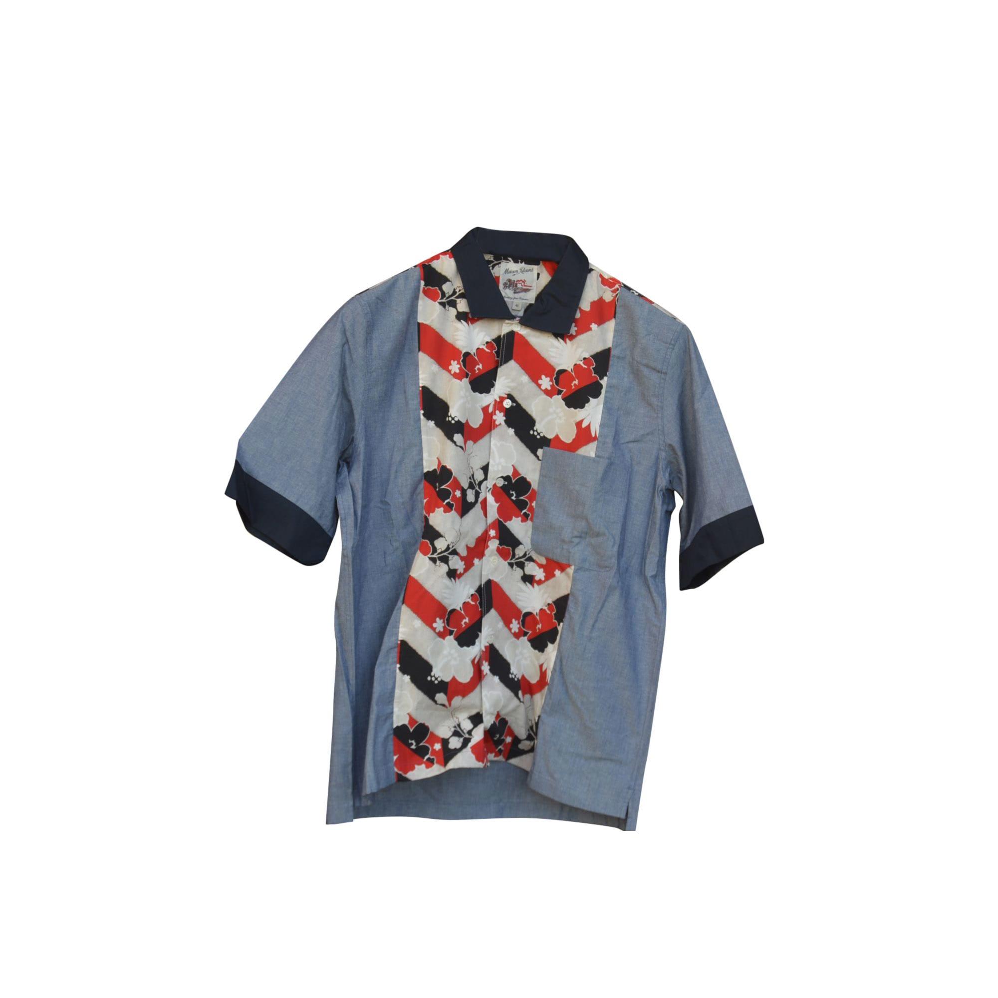 Shirt MAISON KITSUNÉ Blue, navy, turquoise