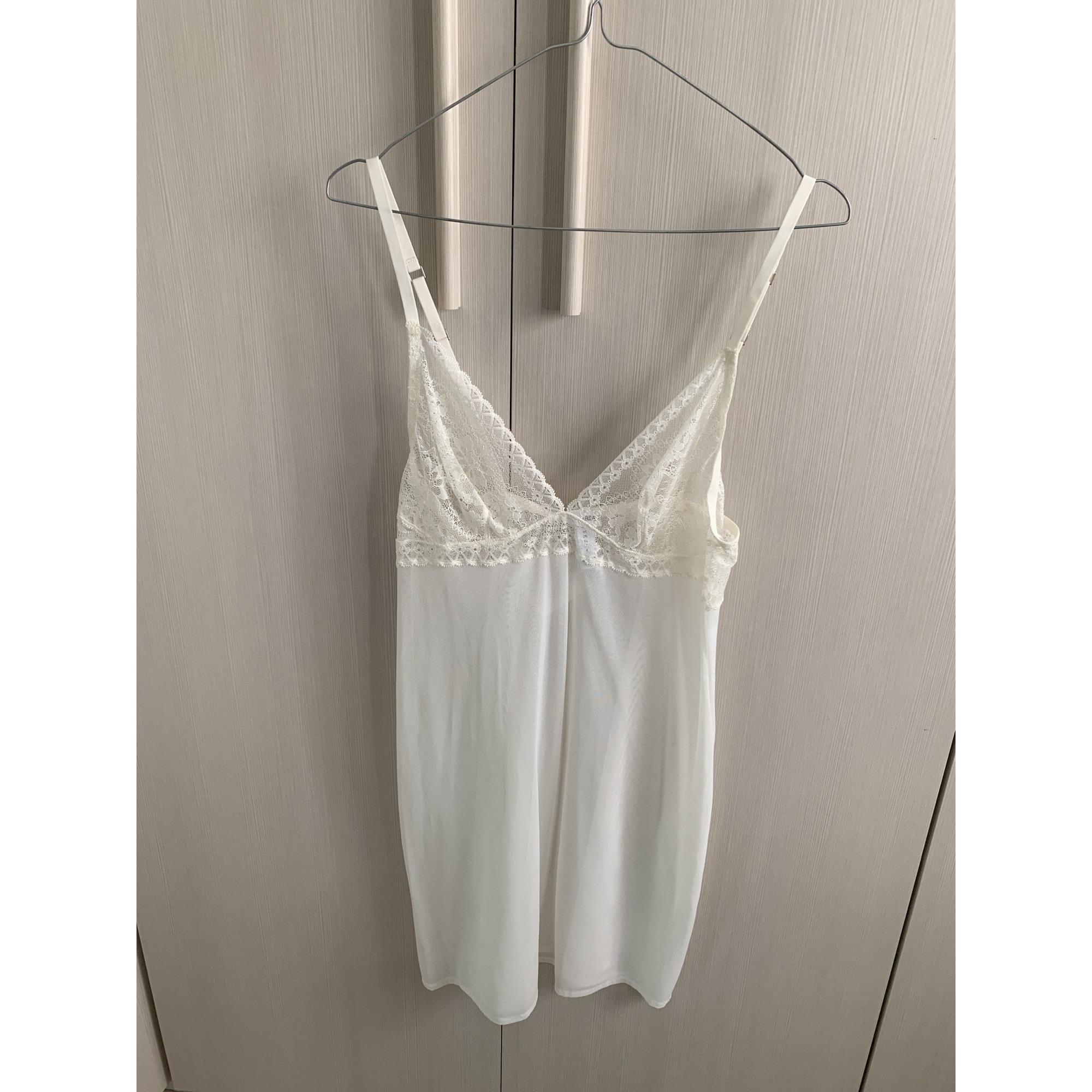 Chemise de nuit LA PERLA Blanc, blanc cassé, écru