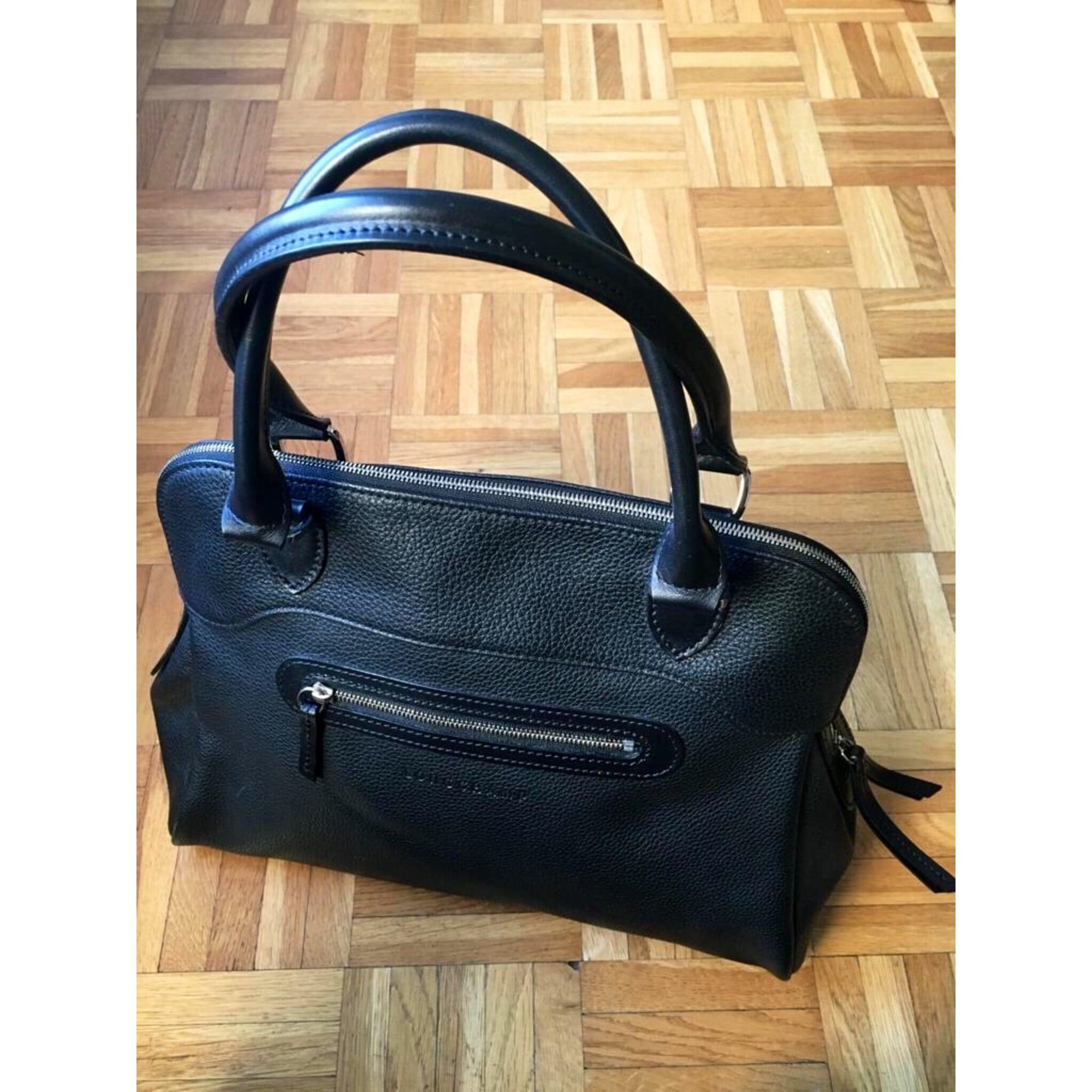 Longchamp Cuir En Noir Sac À Main xHIqqSwR