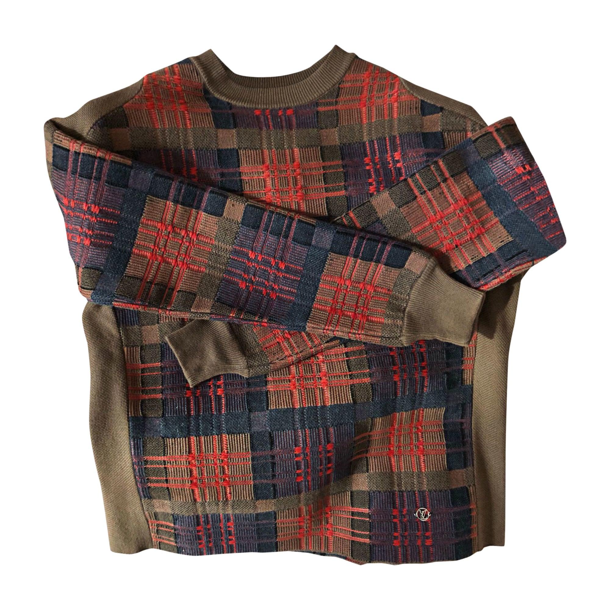 Sweater LOUIS VUITTON Brown