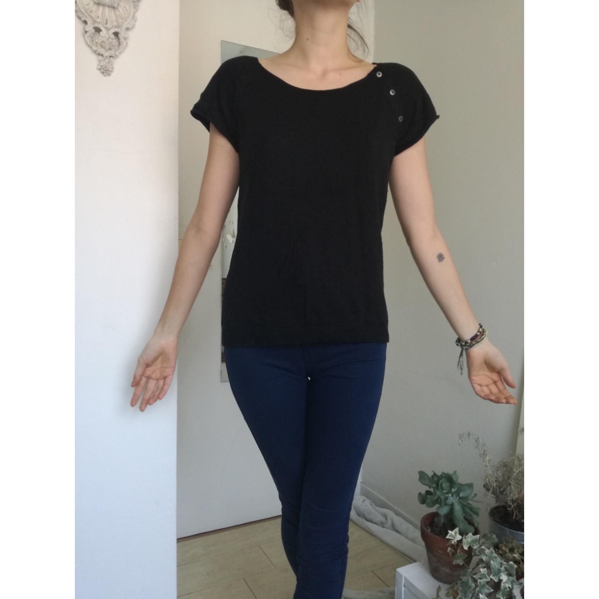 Top, tee-shirt MIM Noir