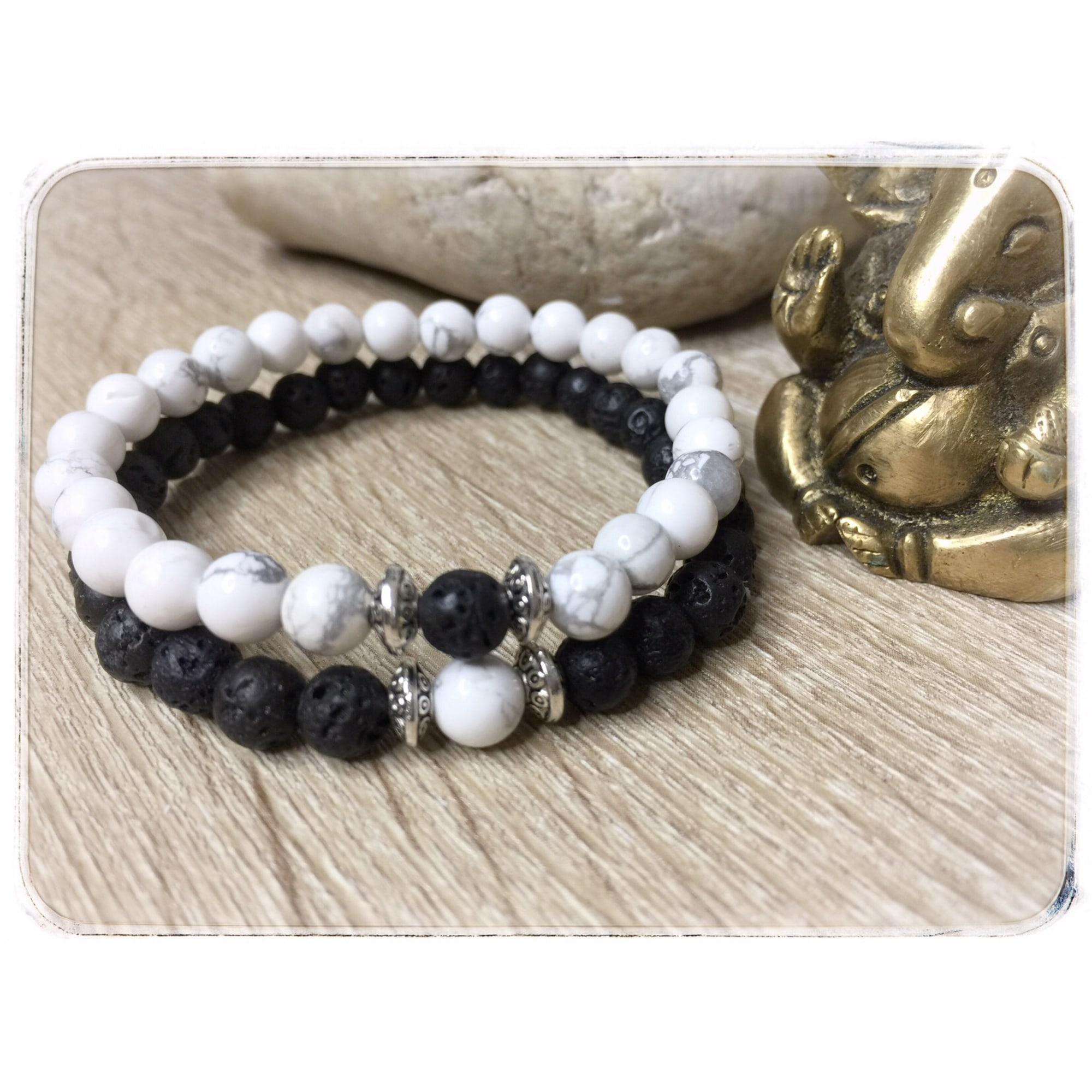 Bracelet MC CRÉATIONS perle blanc